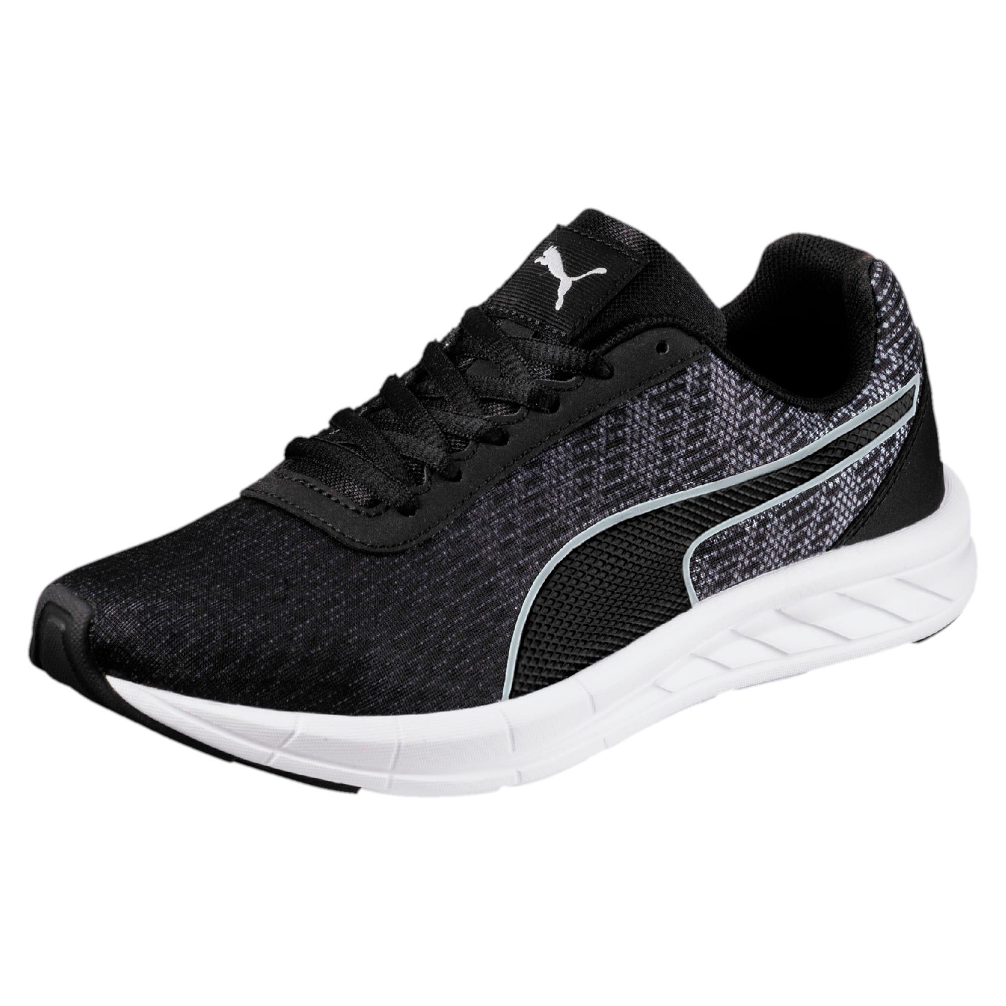 Thumbnail 1 of Comet Kids' Running Shoes, Quarry-Puma Black, medium-IND