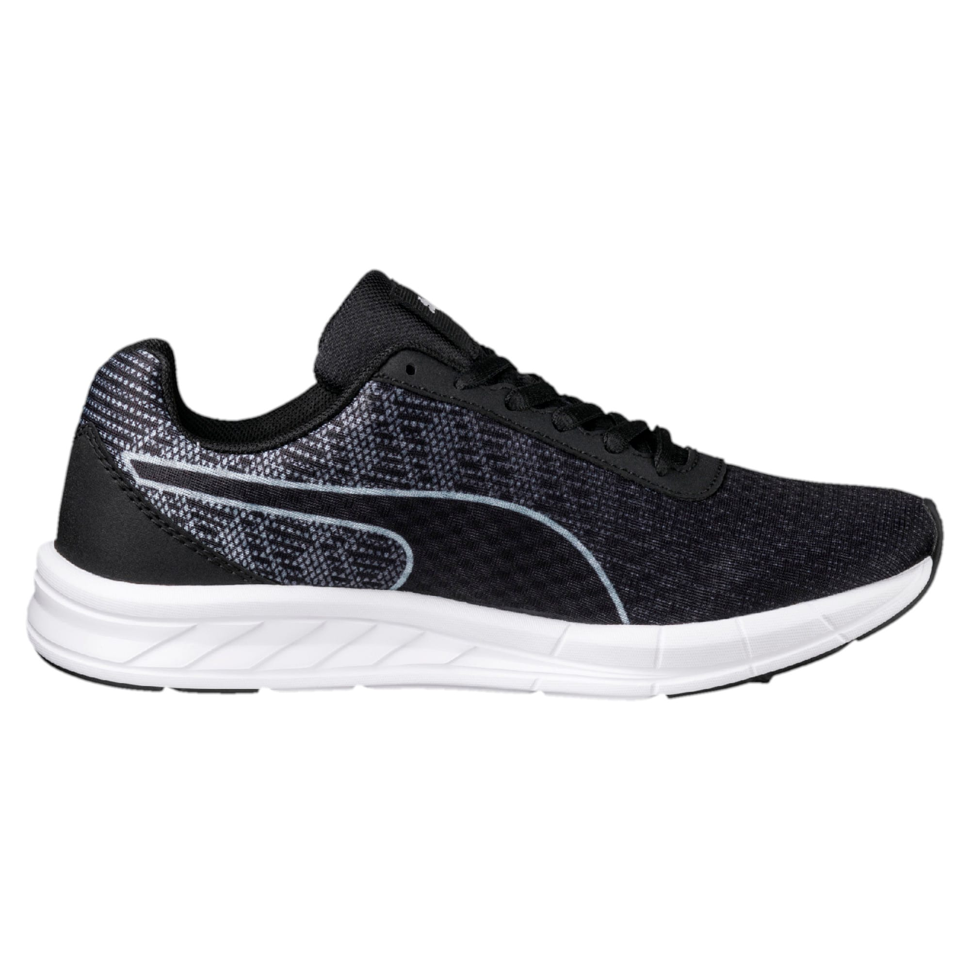 Thumbnail 5 of Comet Kids' Running Shoes, Quarry-Puma Black, medium-IND