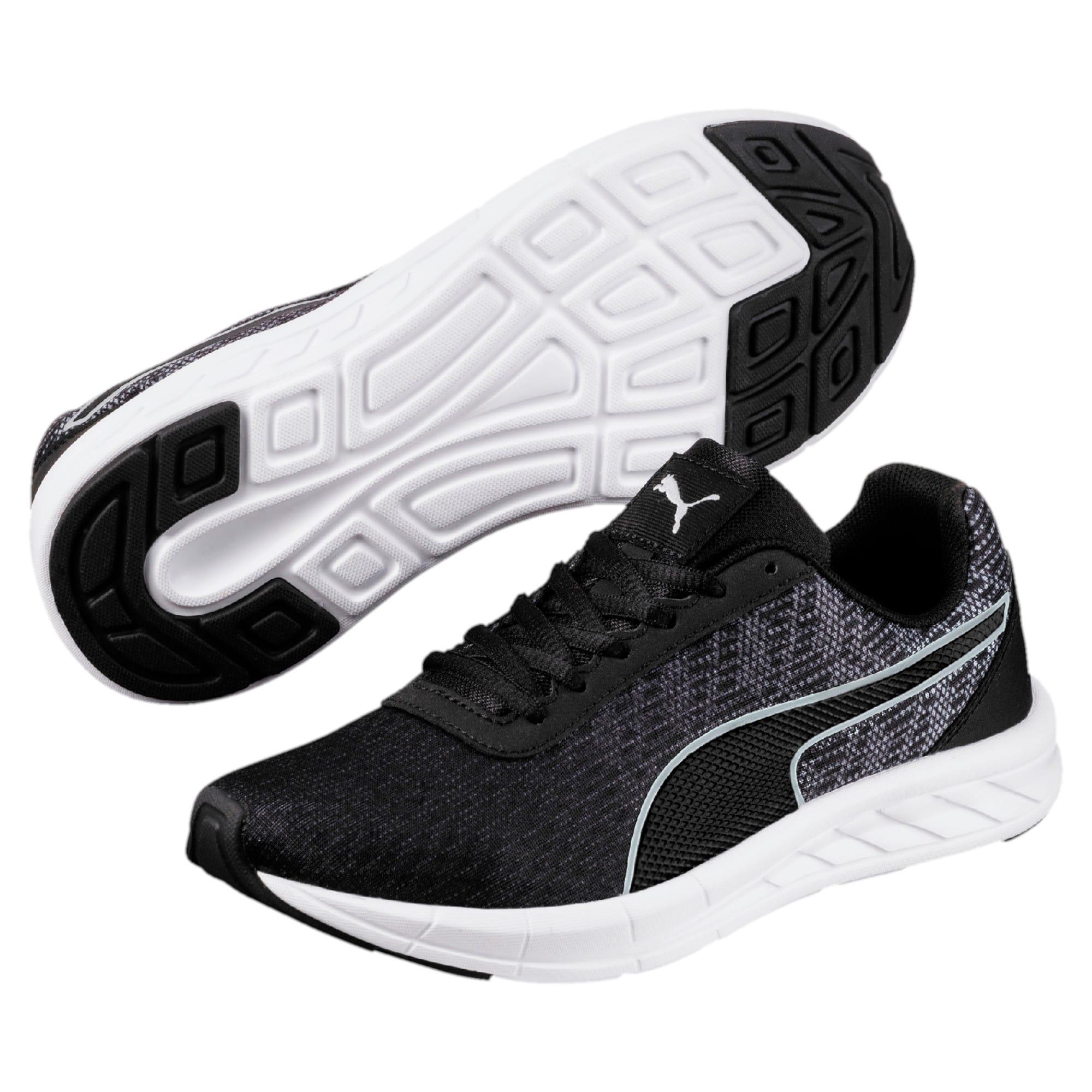 Thumbnail 6 of Comet Kids' Running Shoes, Quarry-Puma Black, medium-IND