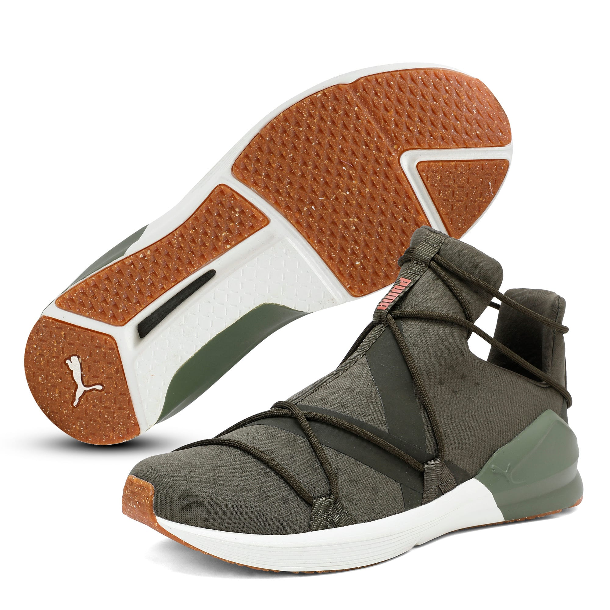 Thumbnail 2 of Fierce Rope VR Women's Training Shoes, Olive Night-Whisper White, medium-IND