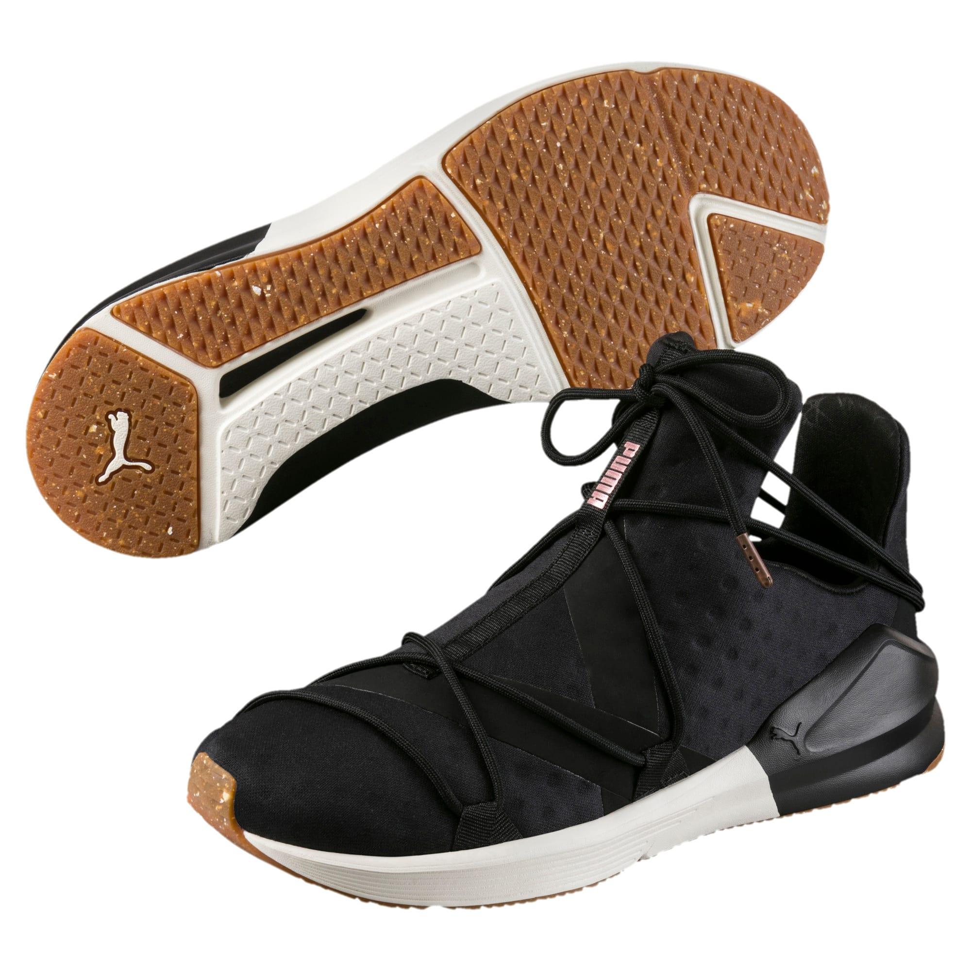 Thumbnail 2 of Fierce Rope VR Women's Training Shoes, Puma Black-Whisper White, medium-IND