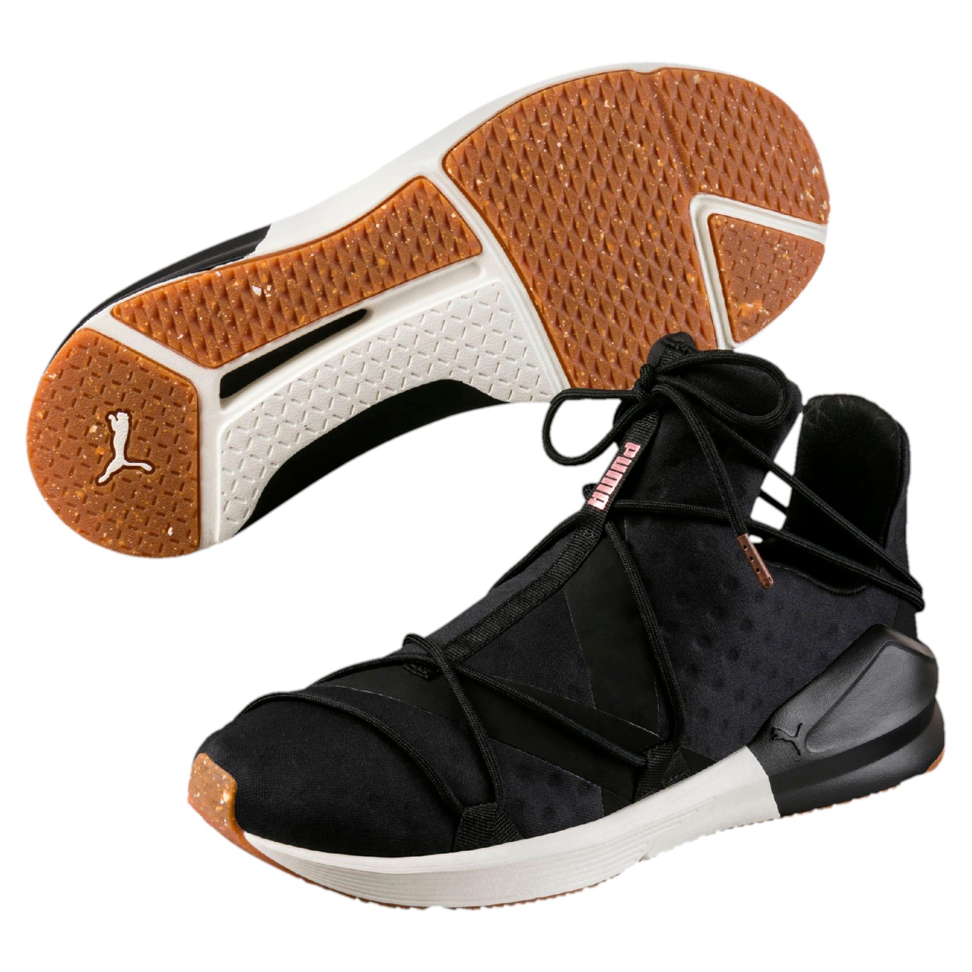 Thumbnail 6 of Fierce Rope VR Women's Training Shoes, Puma Black-Whisper White, medium-IND