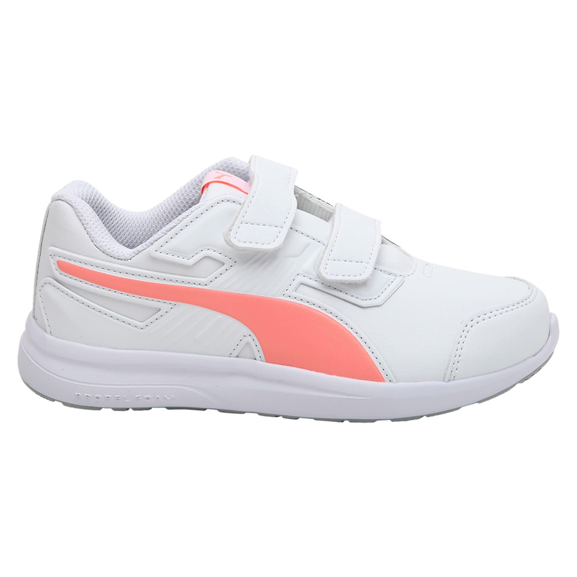 Thumbnail 3 of Escaper SL Baby Trainers, Puma W-Soft Fl P-Puma W, medium-IND