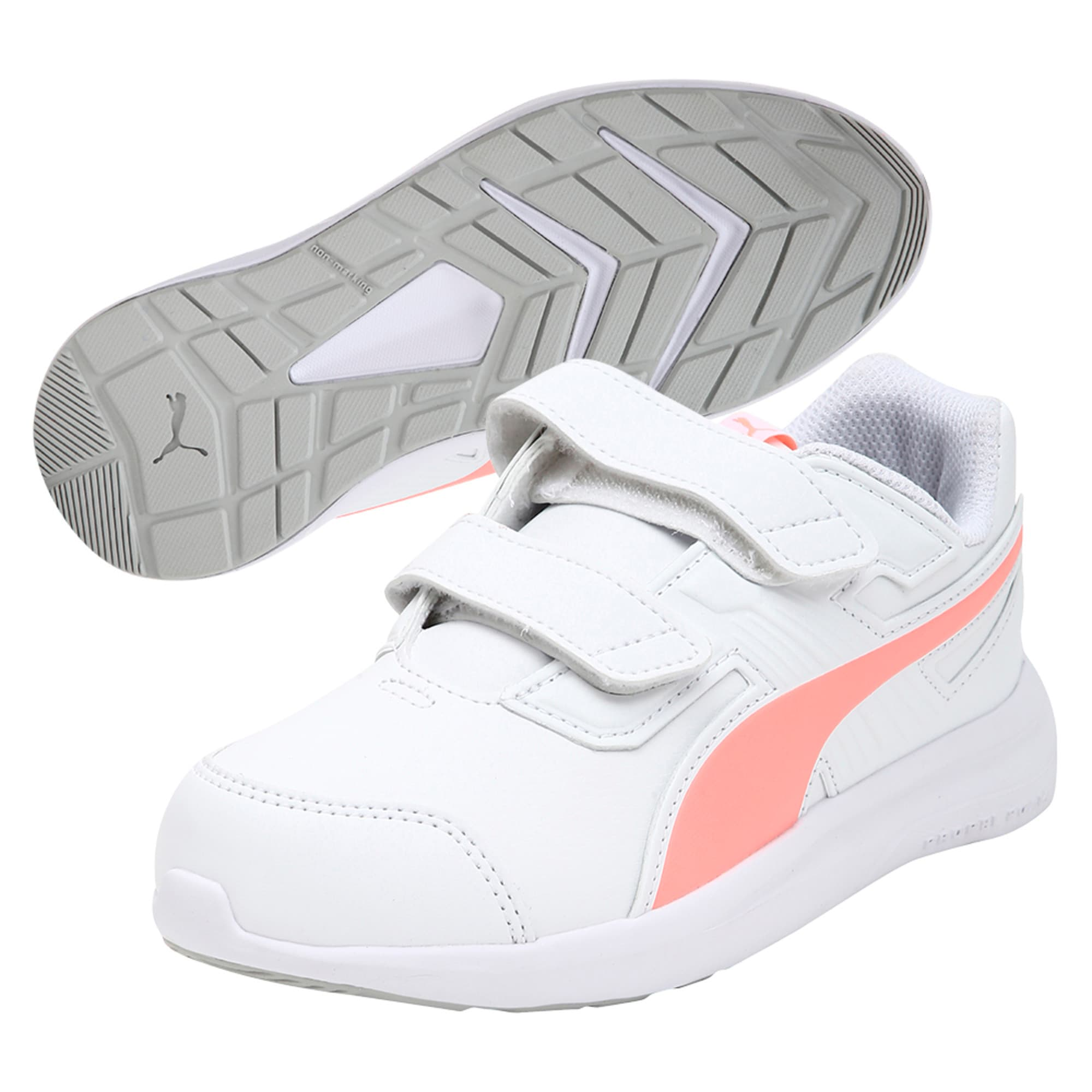 Thumbnail 5 of Escaper SL Baby Trainers, Puma W-Soft Fl P-Puma W, medium-IND