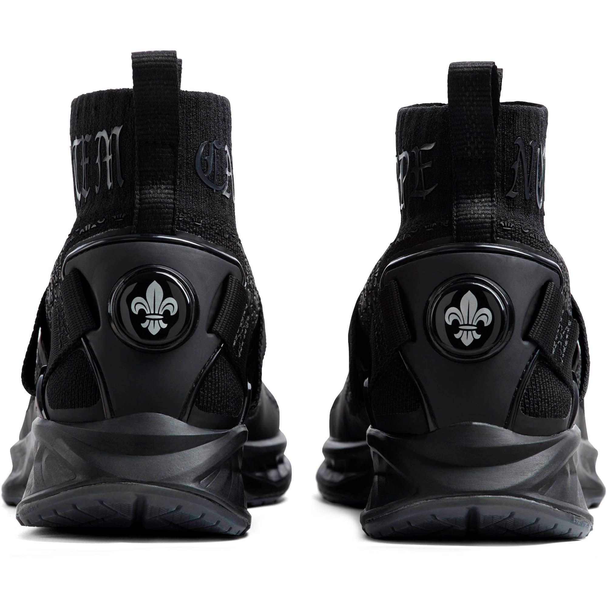Thumbnail 4 of IGNITE evoKNIT En Noir Men's Training Shoes, Puma Black-Puma Black, medium
