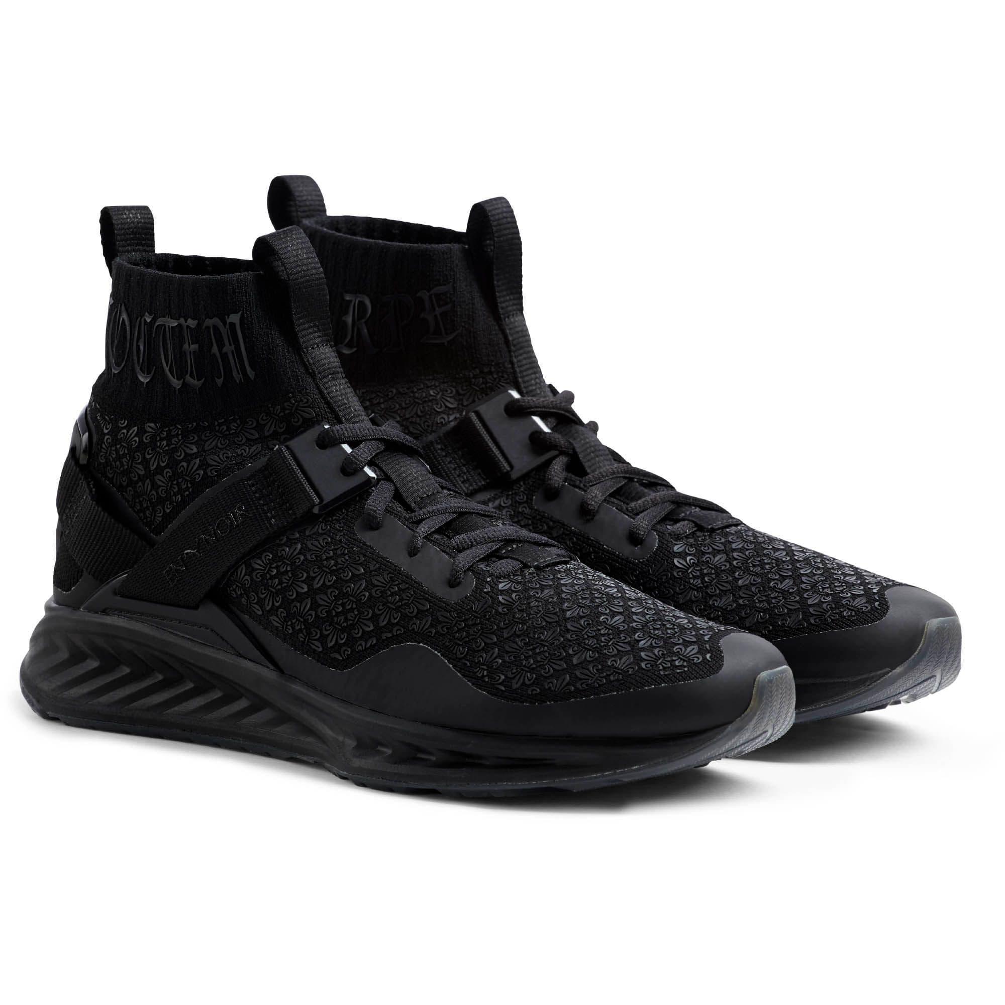 Thumbnail 2 of IGNITE evoKNIT En Noir Men's Training Shoes, Puma Black-Puma Black, medium