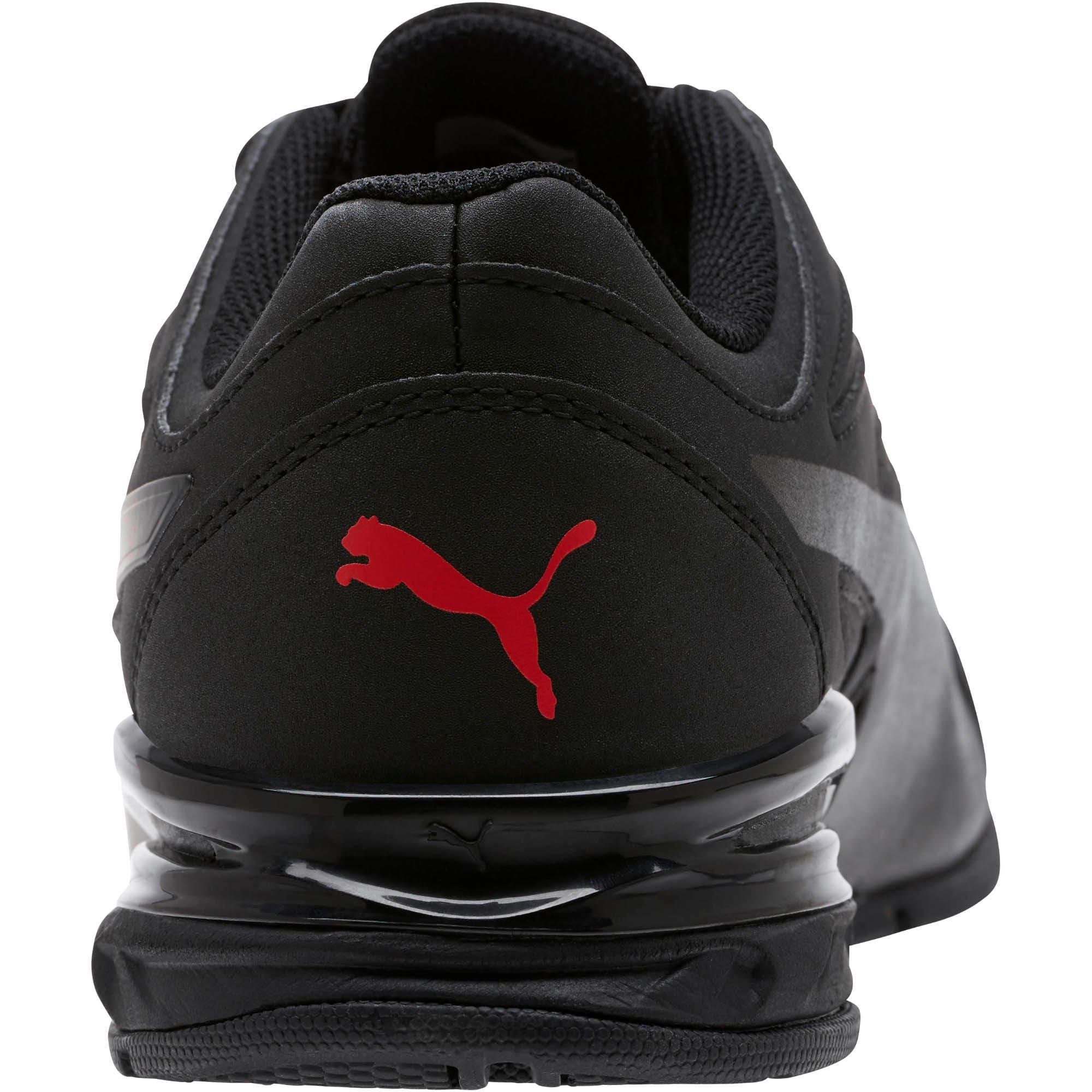 Thumbnail 4 of Tazon Modern SL FM Men's Sneakers, Puma Black-high risk red, medium