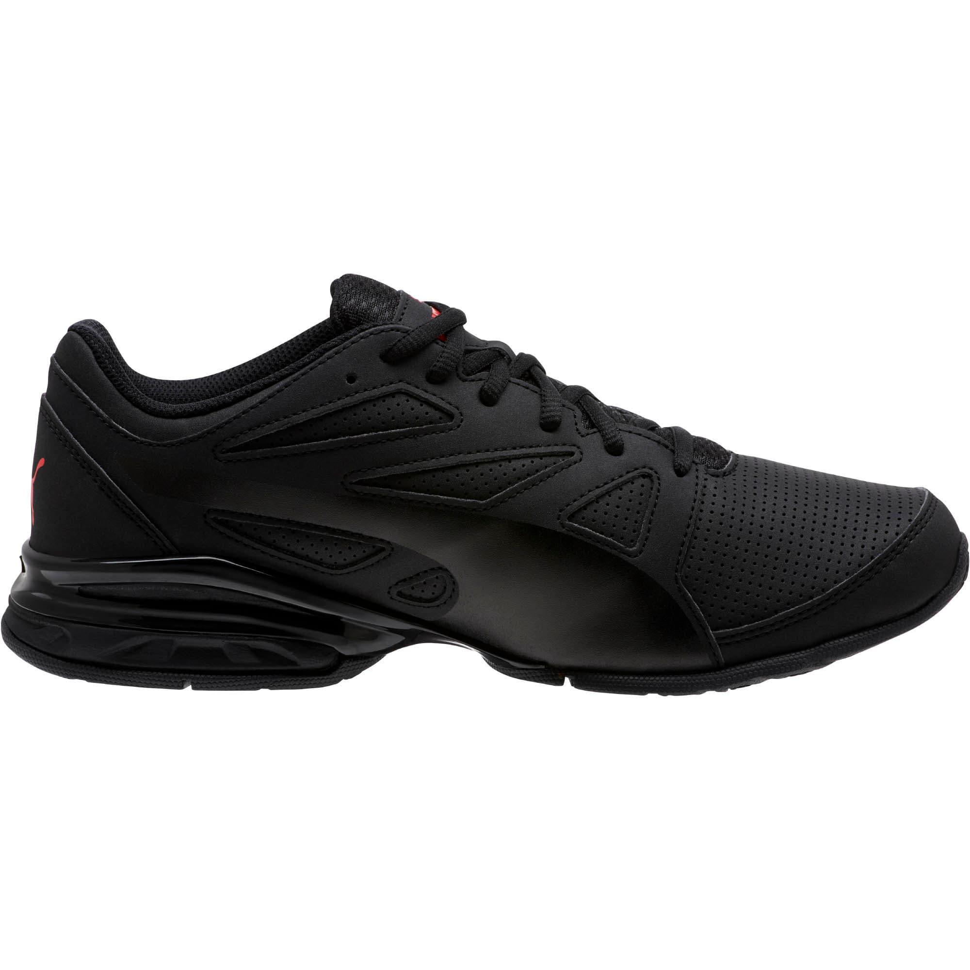 Thumbnail 3 of Tazon Modern SL FM Men's Sneakers, Puma Black-high risk red, medium