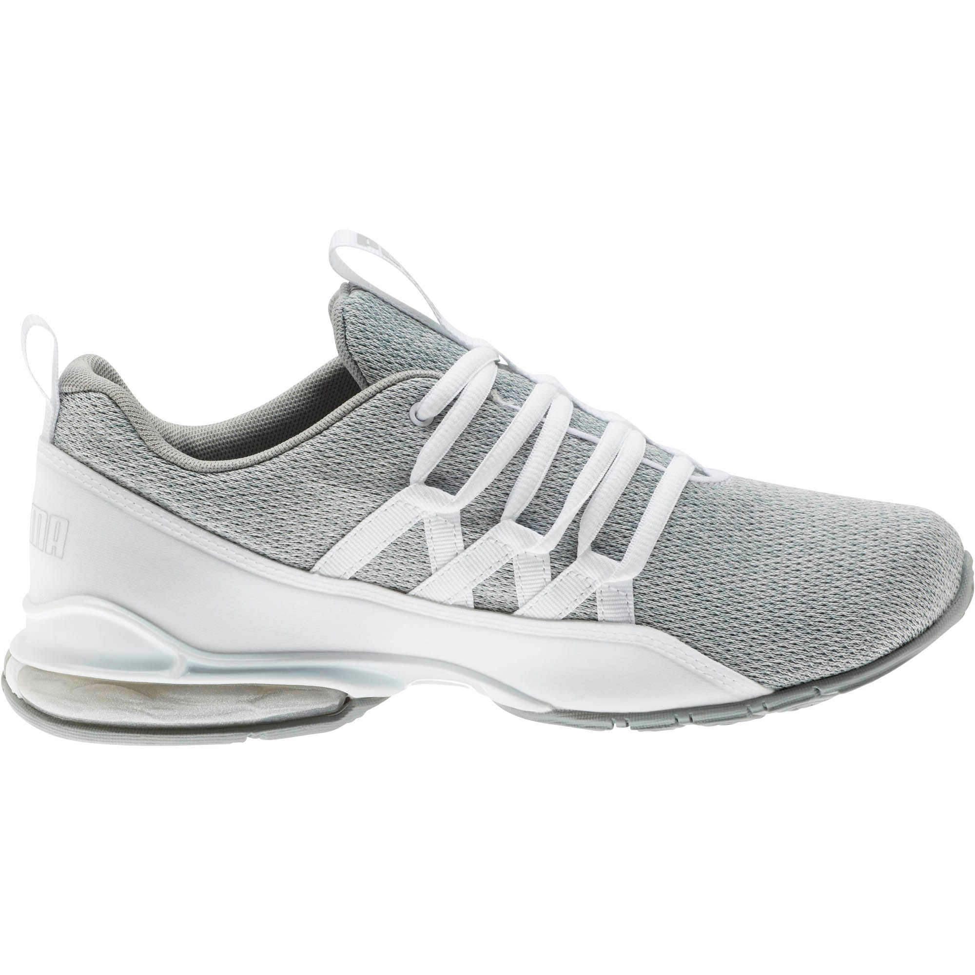 Thumbnail 4 of Riaze Prowl Women's Training Shoes, Puma White-Puma Silver, medium