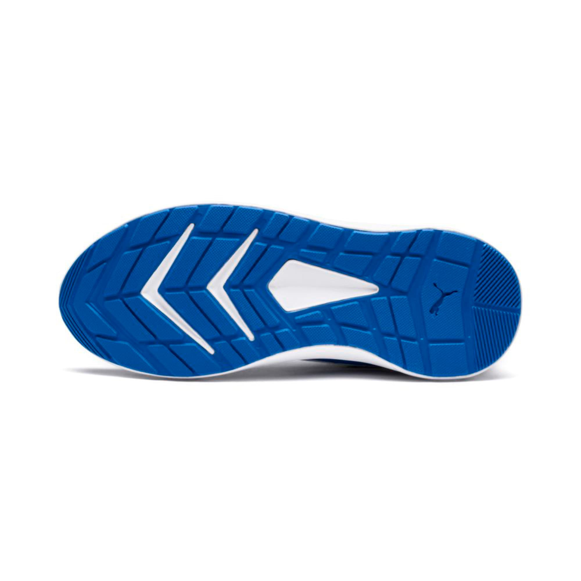 Thumbnail 2 of Escaper Mesh Kids' Trainers, Blue- White-Ribbon Red, medium-IND