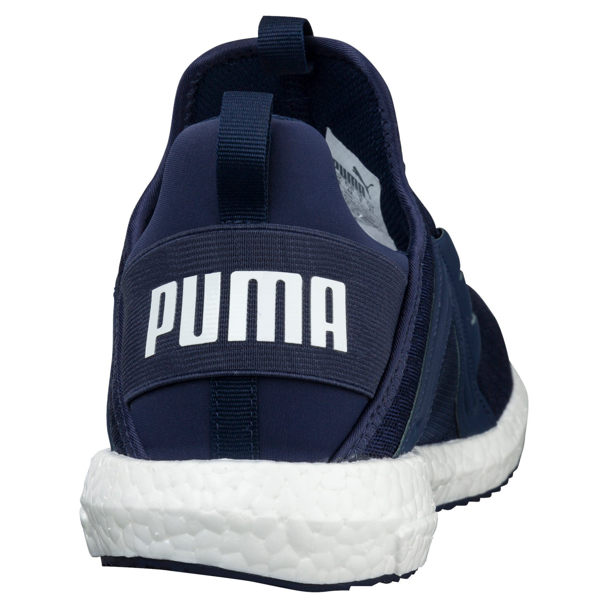 Thumbnail 4 of Mega NRGY Men's Trainers, Peacoat-Puma White, medium-IND