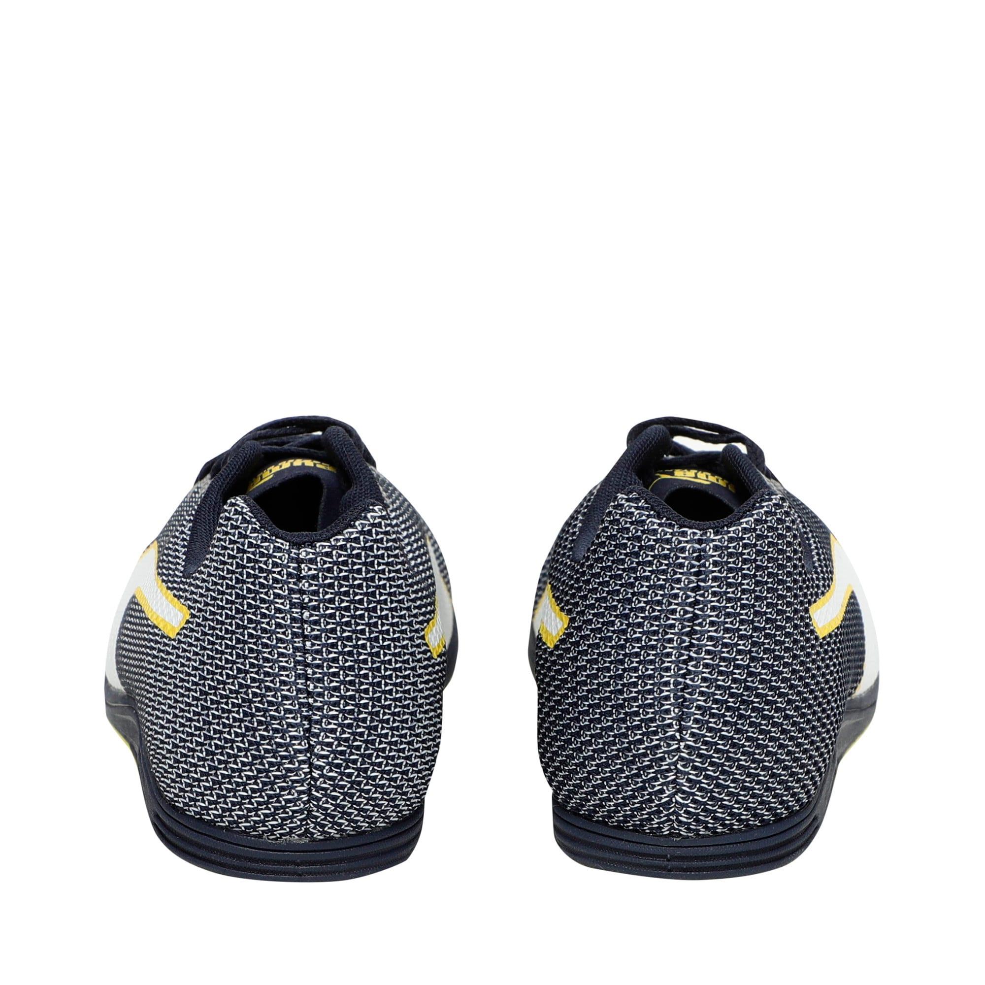 Thumbnail 4 of evoSPEED Distance 8 Men's Running Shoes, Peacoat-Blazing Yellow, medium-IND