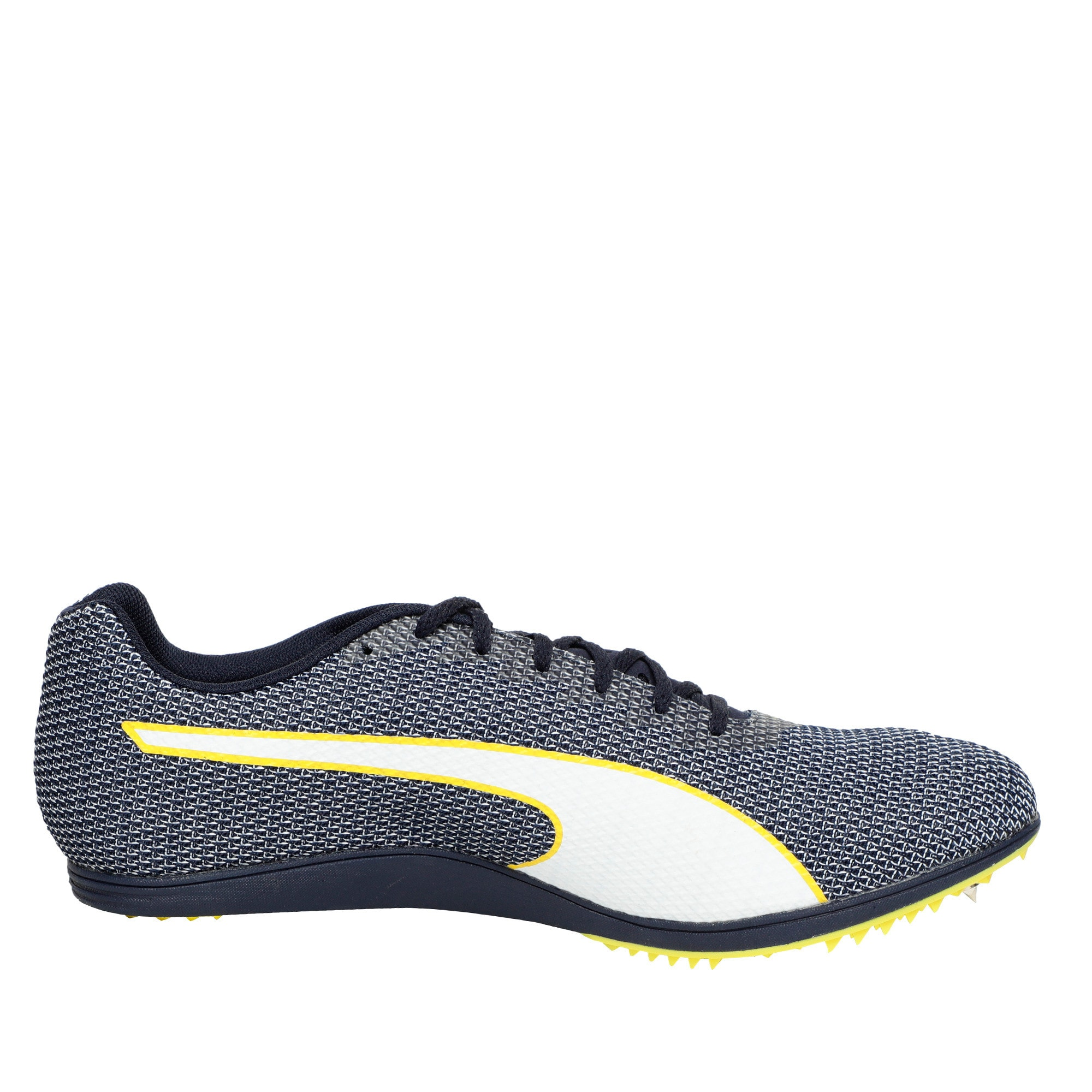 Thumbnail 5 of evoSPEED Distance 8 Men's Running Shoes, Peacoat-Blazing Yellow, medium-IND