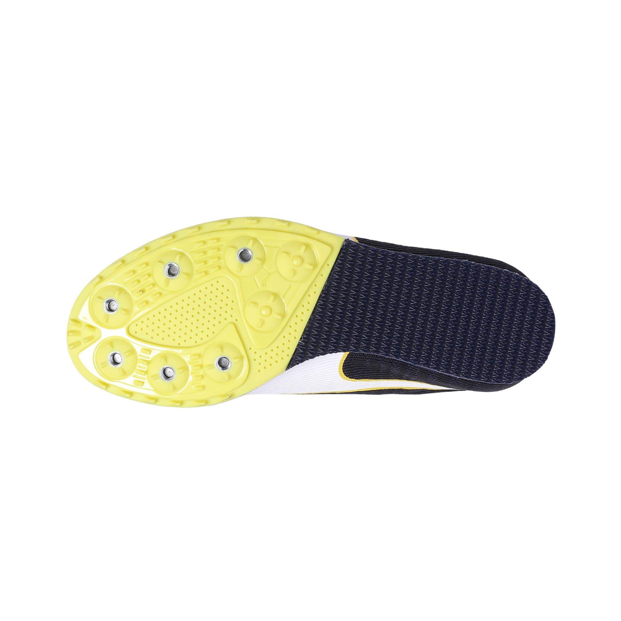 Thumbnail 4 of evoSPEED Star 6 Kids' Running Shoes, Peacoat-Puma Black-Yellow, medium-IND
