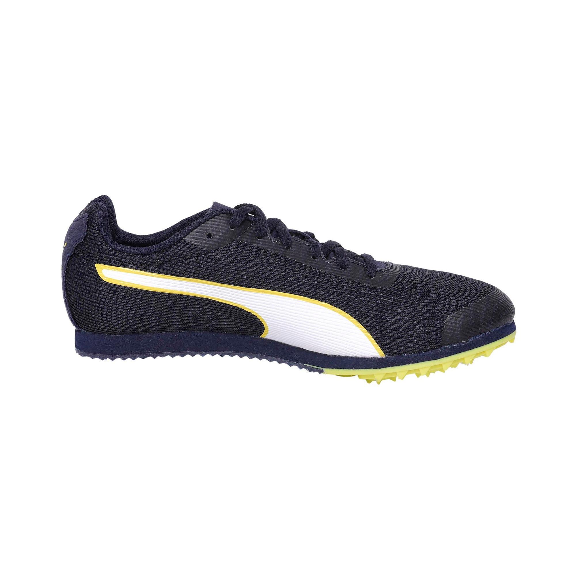 Thumbnail 5 of evoSPEED Star 6 Kids' Running Shoes, Peacoat-Puma Black-Yellow, medium-IND