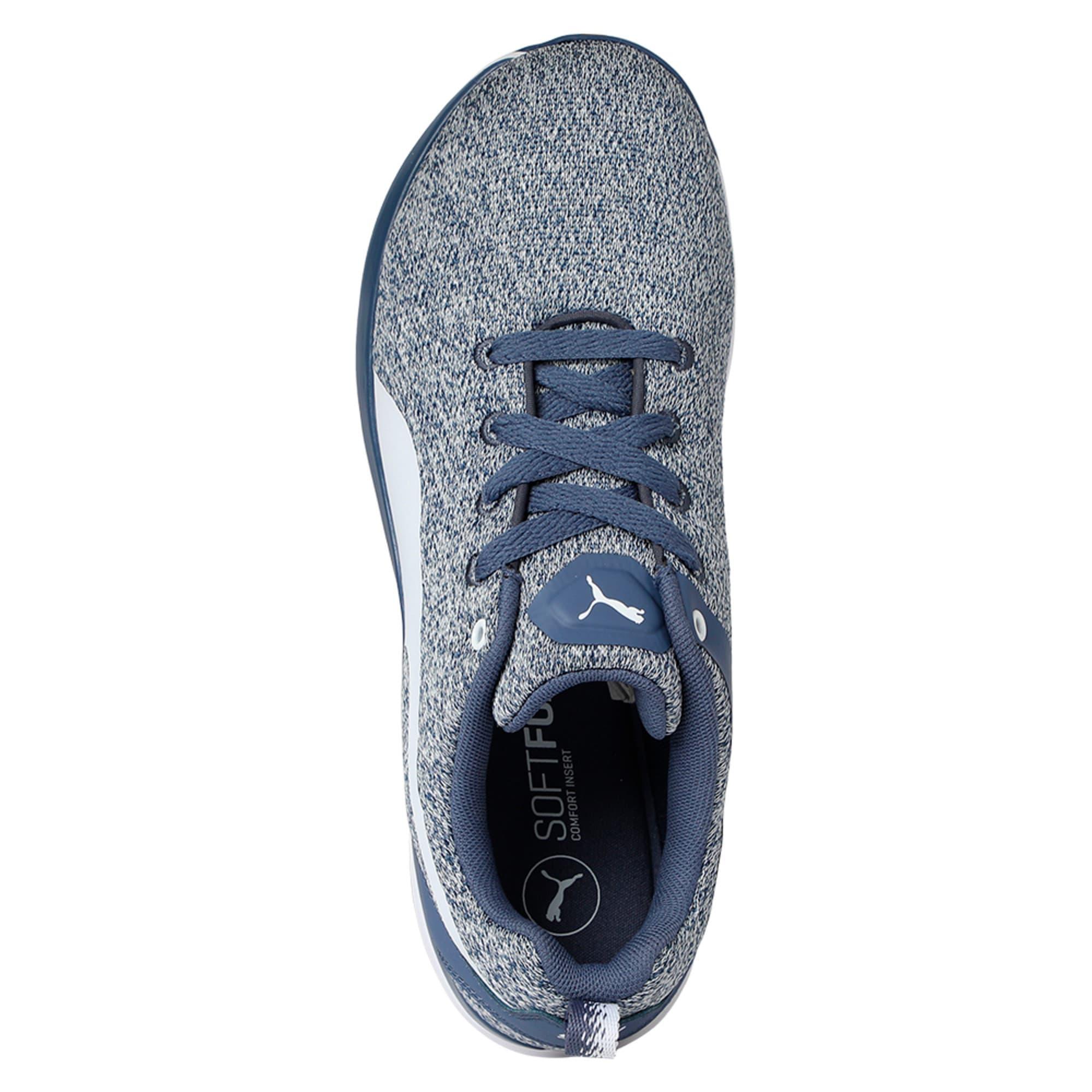 Thumbnail 3 of Flex XT Knit Women's Training Shoes, Blue Indigo-Puma White, medium-IND