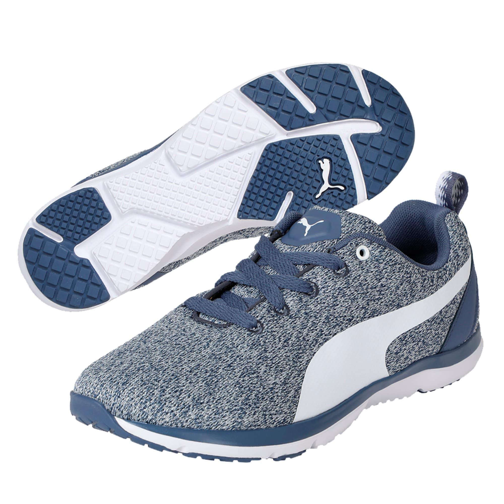 Thumbnail 2 of Flex XT Knit Women's Training Shoes, Blue Indigo-Puma White, medium-IND