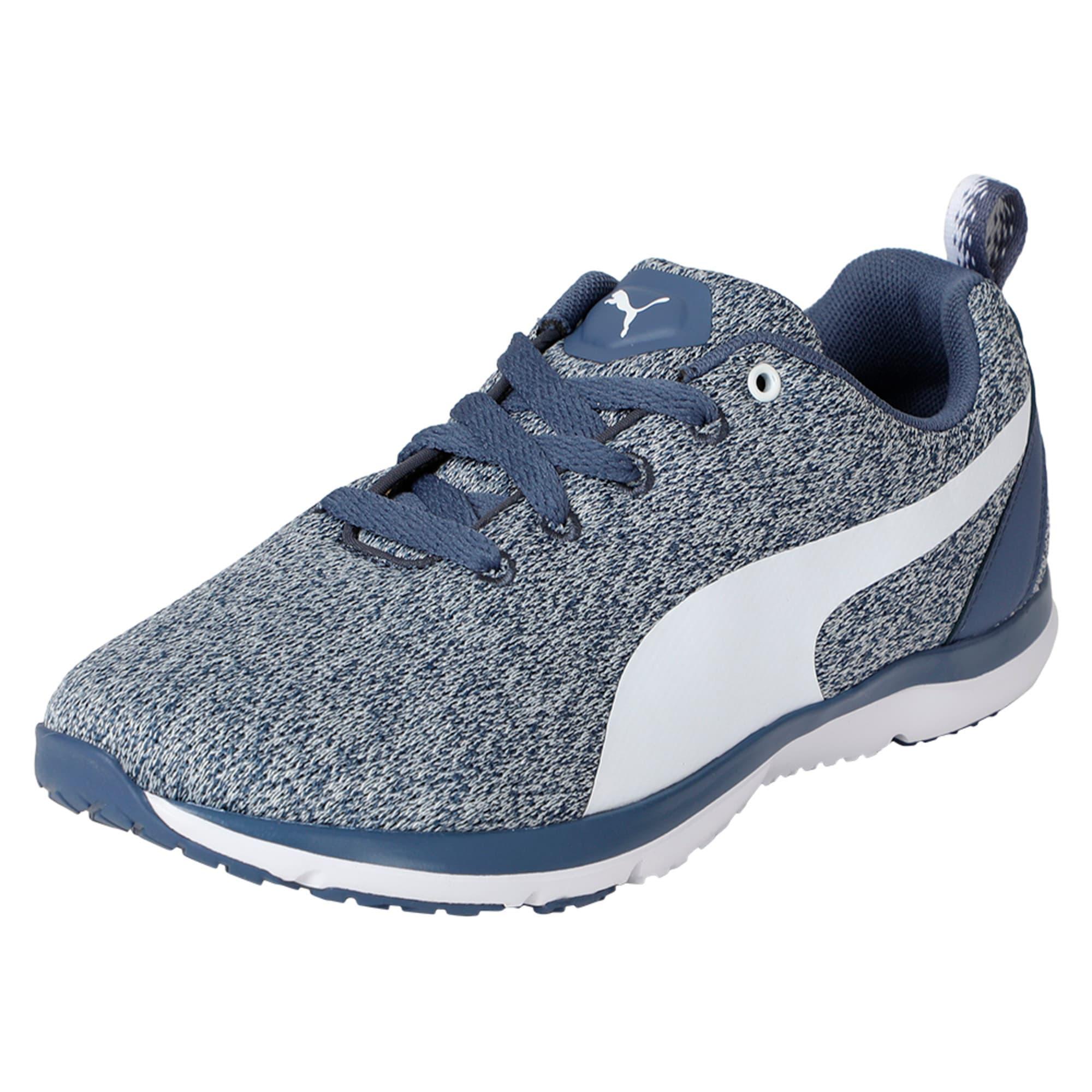 Thumbnail 1 of Flex XT Knit Women's Training Shoes, Blue Indigo-Puma White, medium-IND