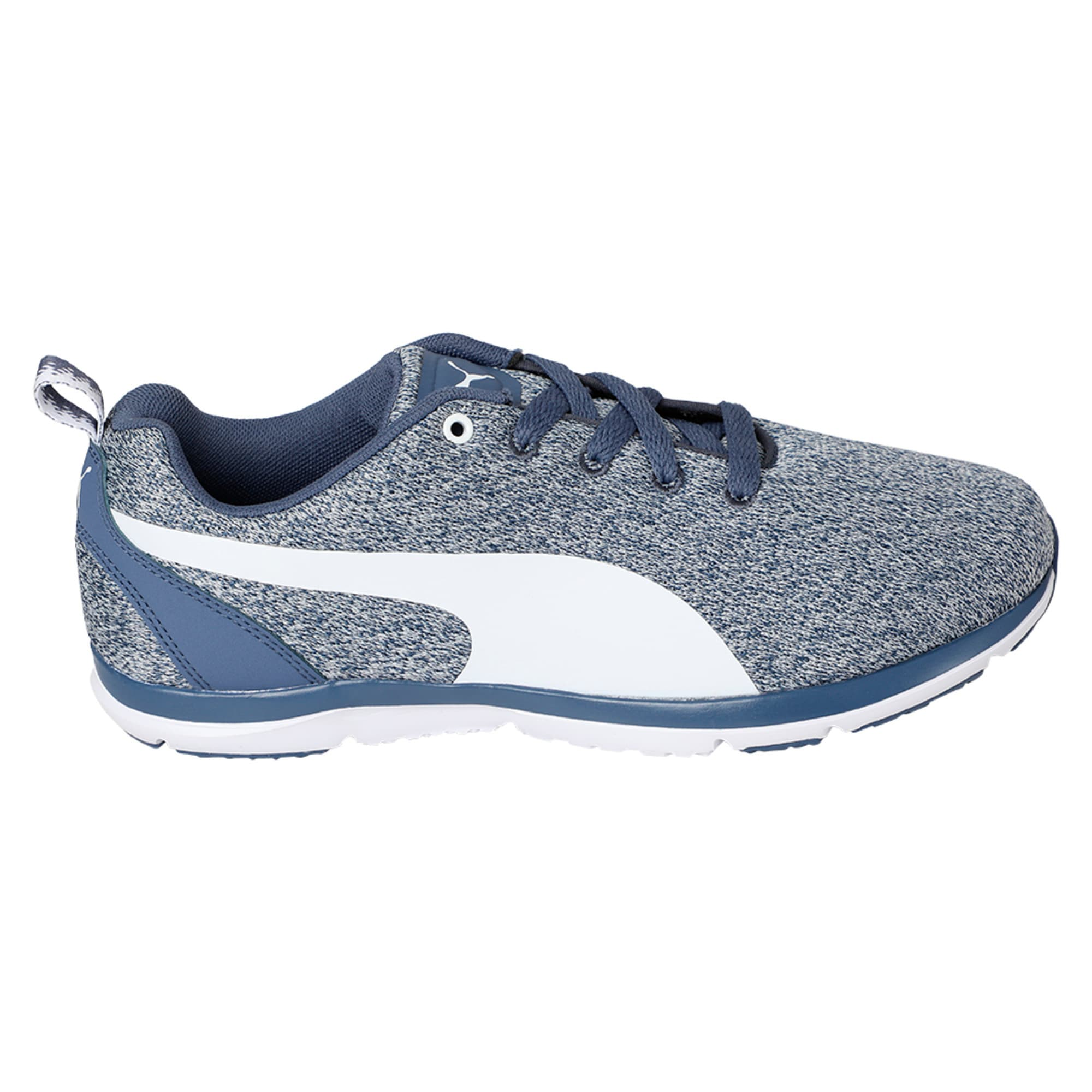 Thumbnail 5 of Flex XT Knit Women's Training Shoes, Blue Indigo-Puma White, medium-IND