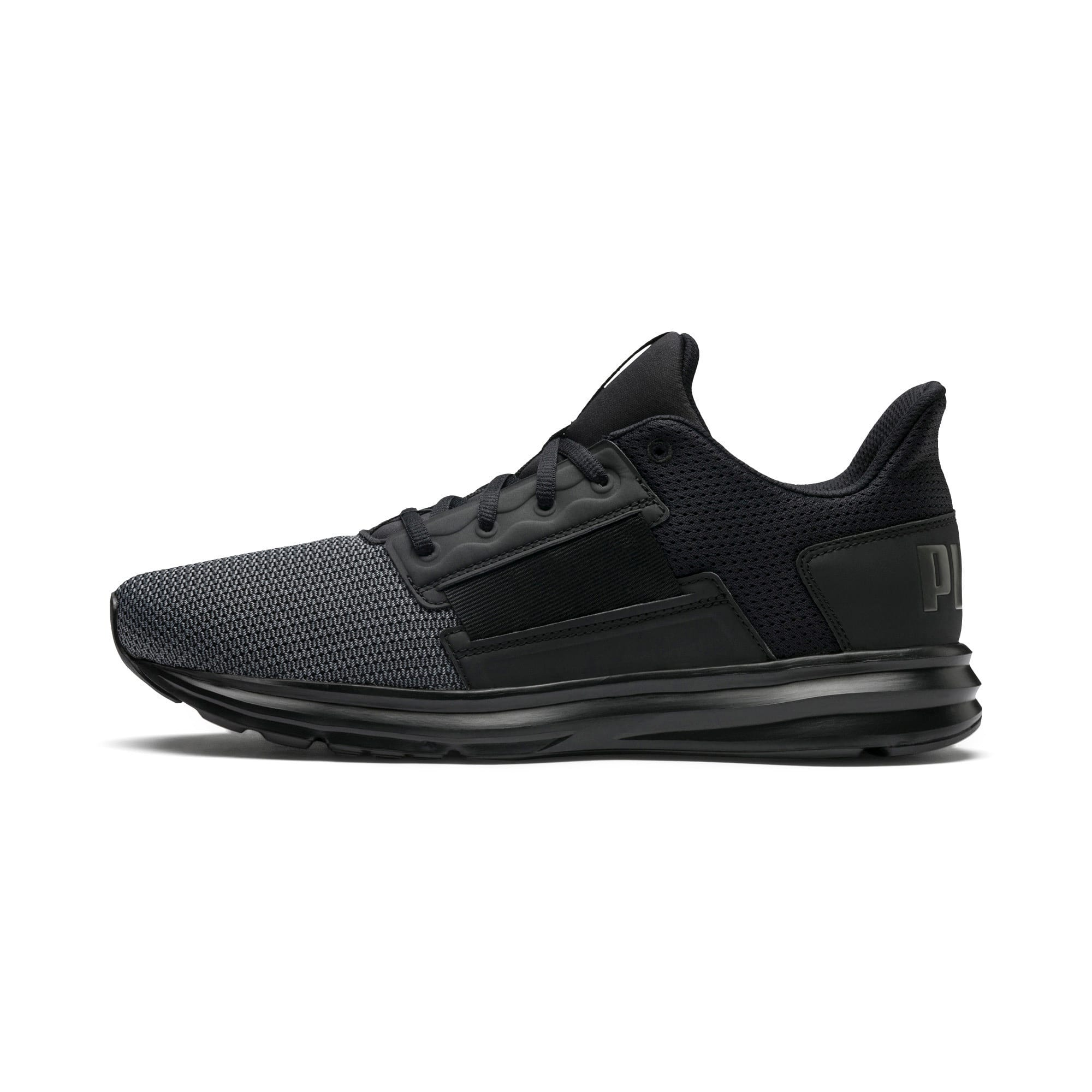 Thumbnail 1 of Enzo Street Men's Running Shoes, Black-Iron Gate-Aged Silver, medium-IND