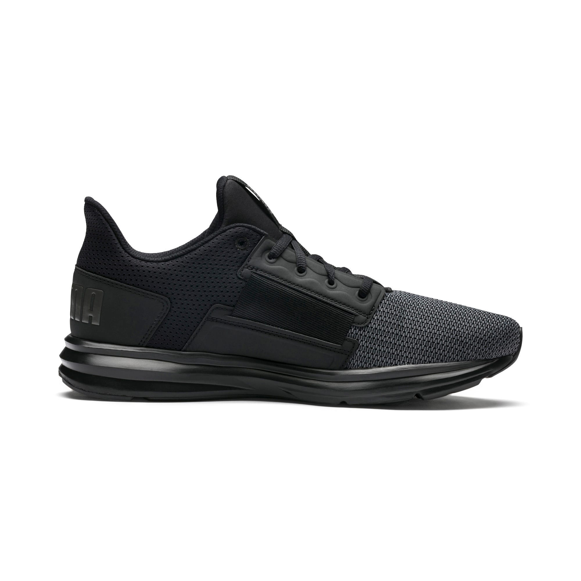 Thumbnail 5 of Enzo Street Men's Running Shoes, Black-Iron Gate-Aged Silver, medium-IND