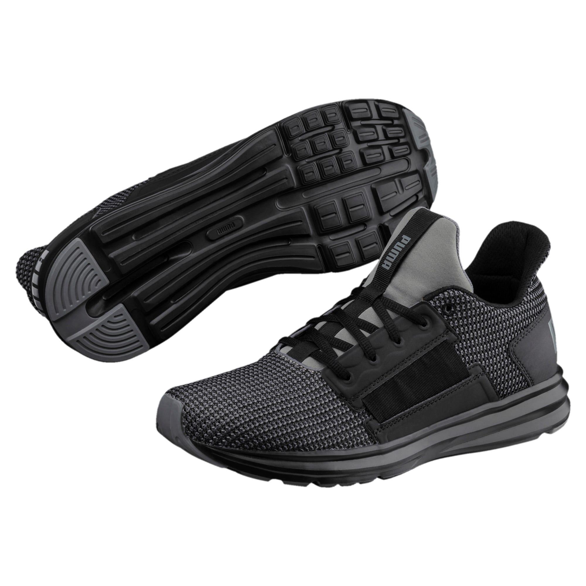 Thumbnail 2 of Chaussure de course Enzo Street Knit pour homme, QUIET SHADE-Puma Black, medium