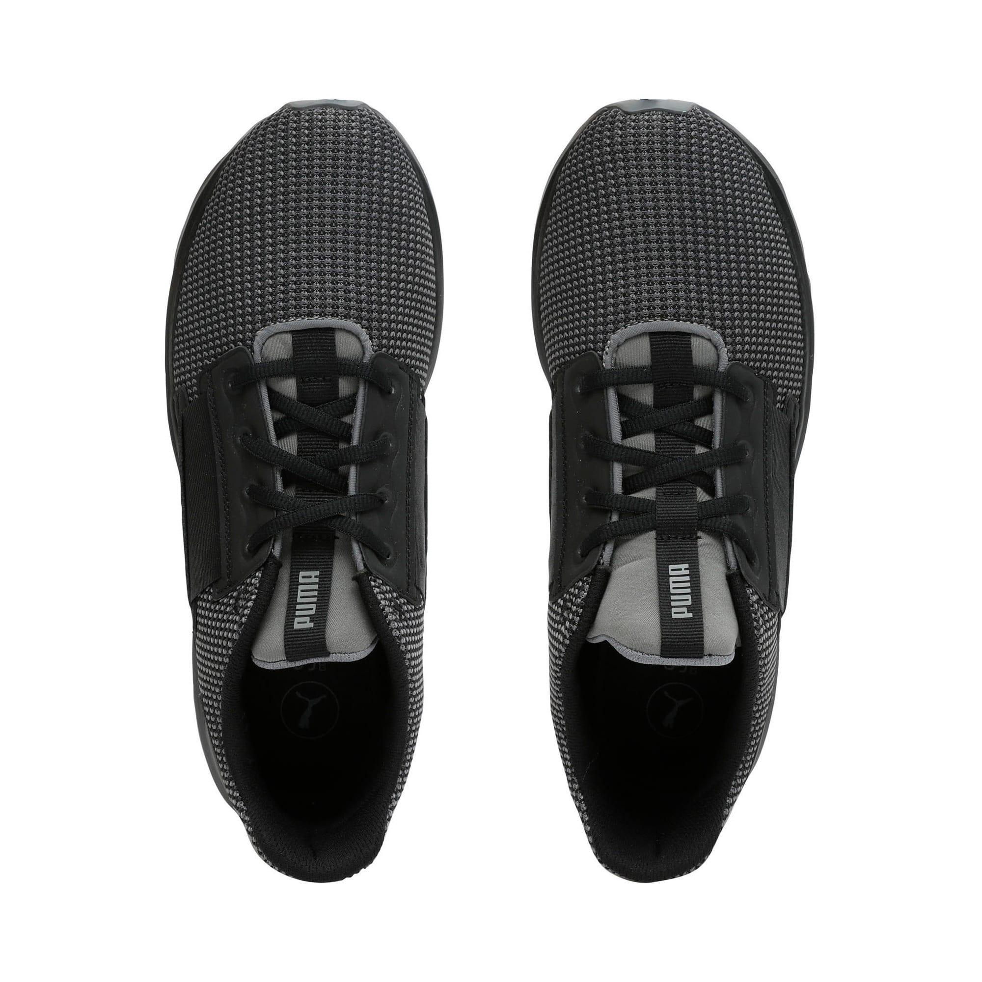 Thumbnail 6 of Enzo Street Knit Men's Running Shoes, QUIET SHADE-Puma Black, medium-IND
