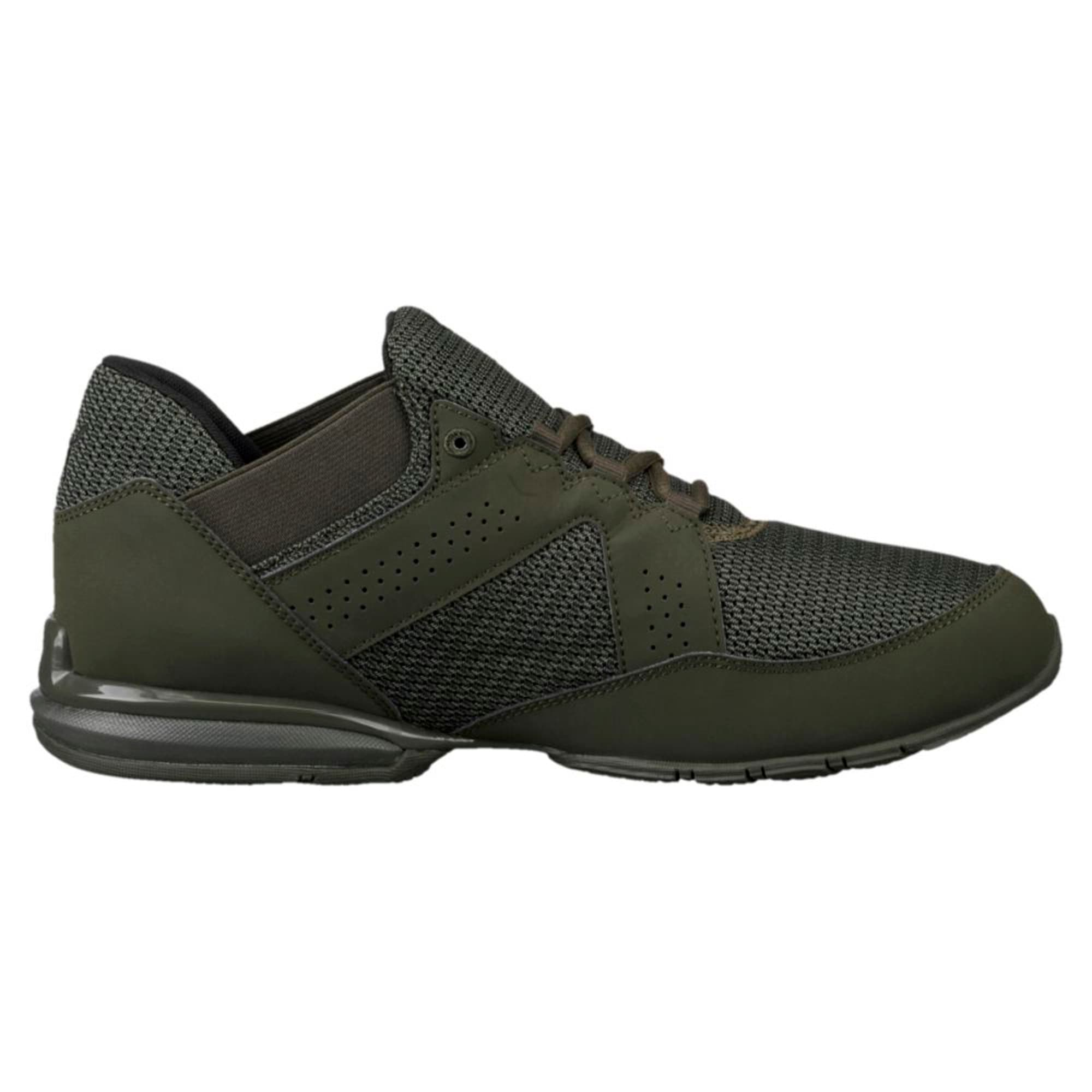 Thumbnail 4 of Enzin Mesh Men's Running Shoes, Forest Night-Puma Black, medium-IND