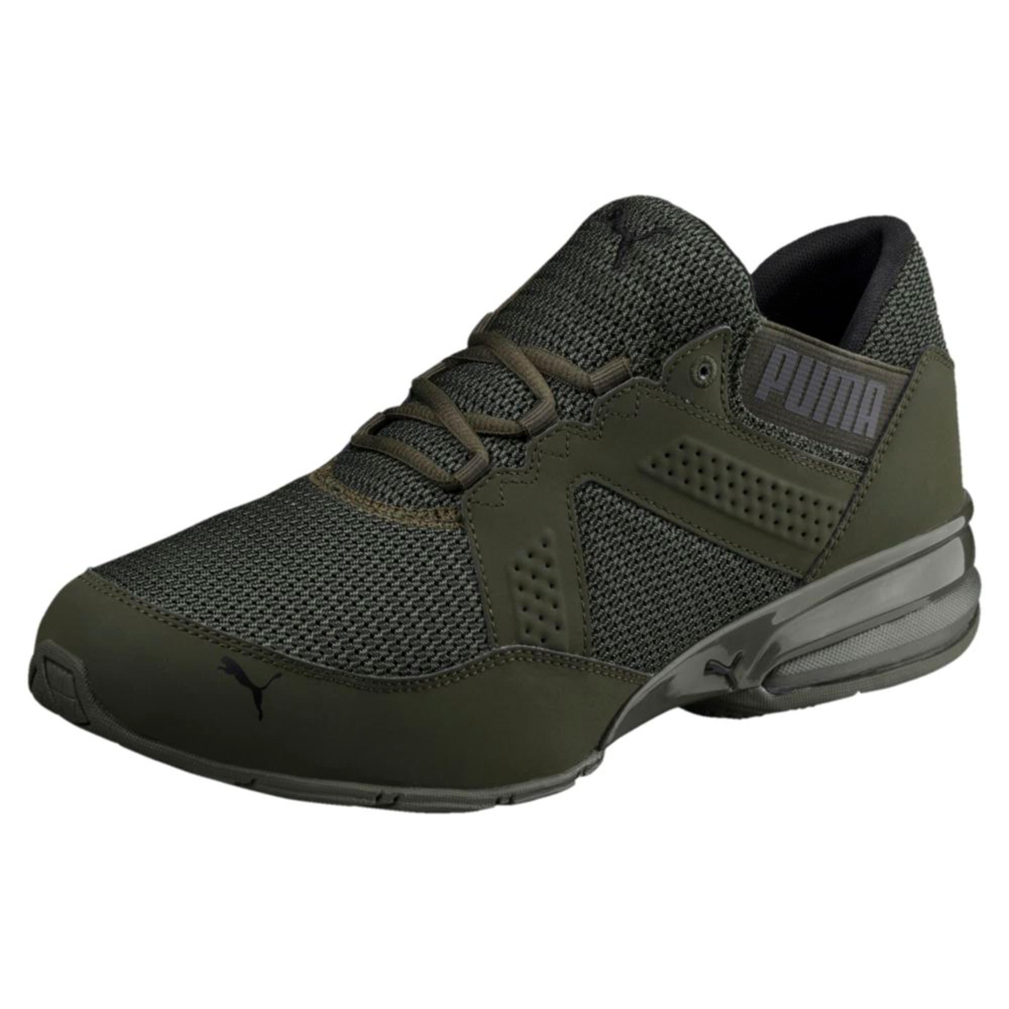 Thumbnail 1 of Enzin Mesh Men's Running Shoes, Forest Night-Puma Black, medium-IND
