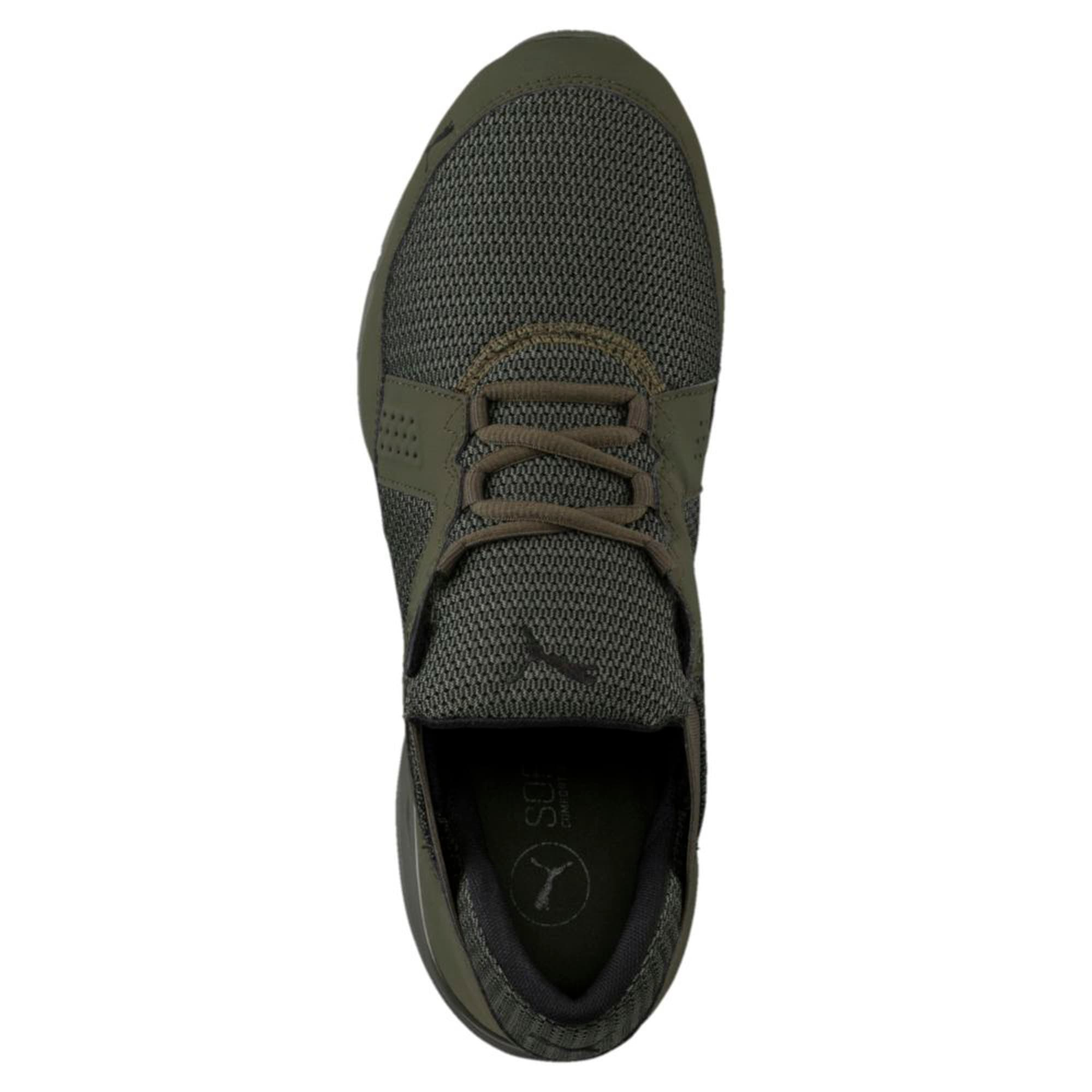 Thumbnail 5 of Enzin Mesh Men's Running Shoes, Forest Night-Puma Black, medium-IND