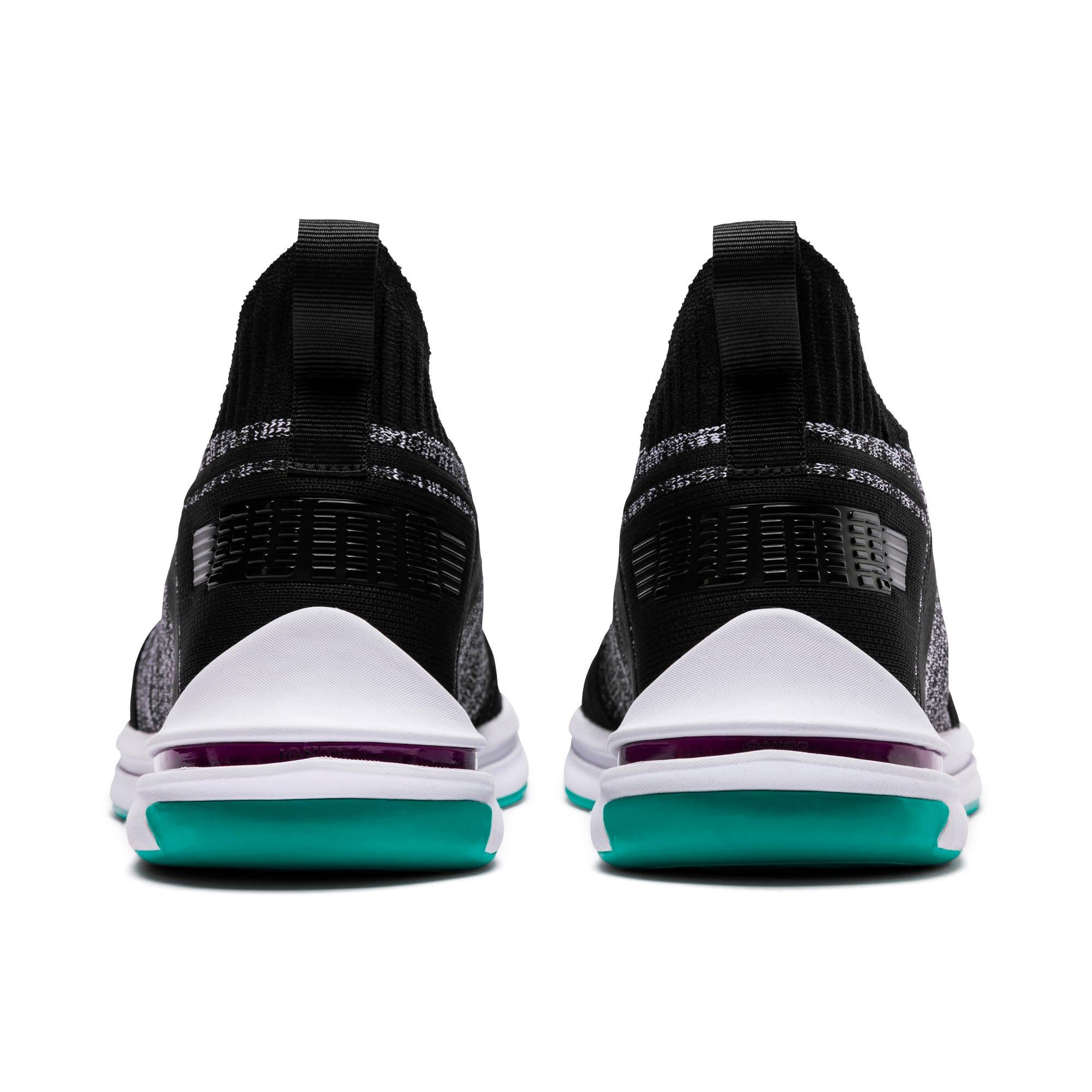 Thumbnail 4 of IGNITE Limitless SR evoKNIT Men's Sneakers, Puma Black-Spectra Green, medium