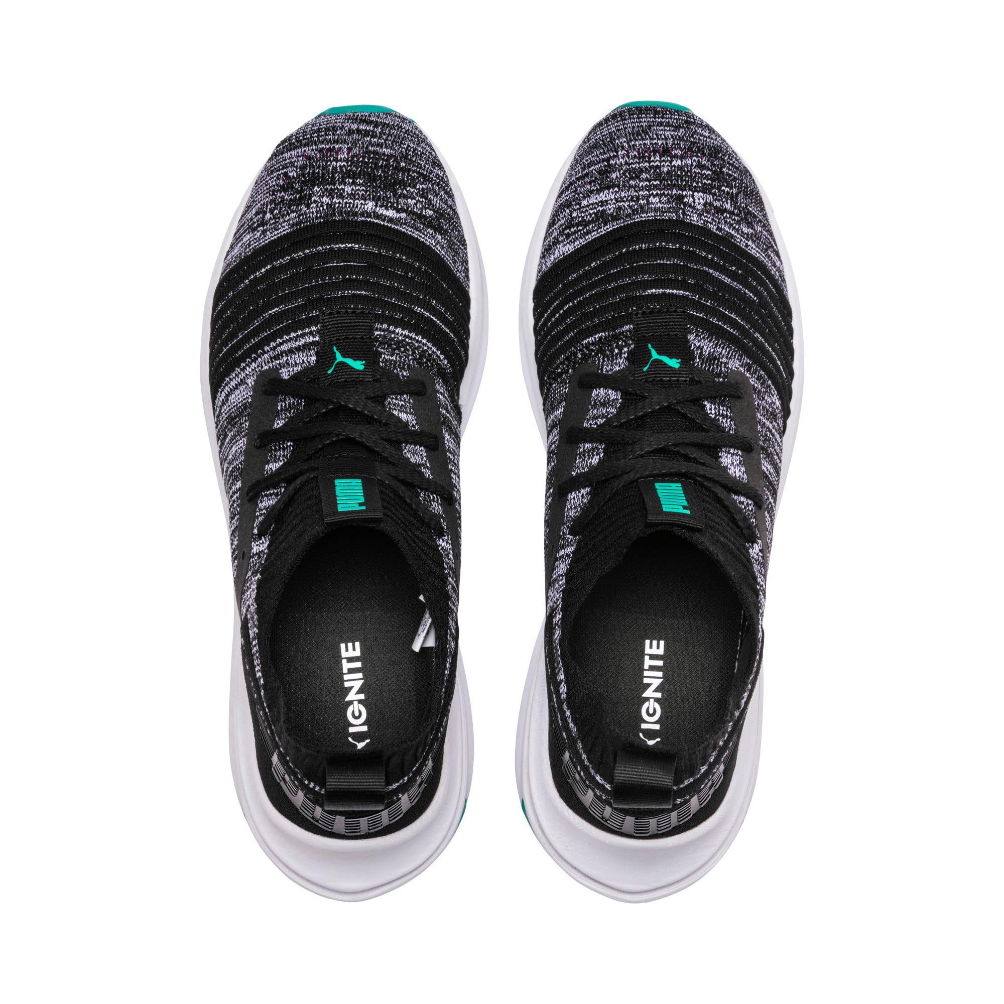 Thumbnail 6 of IGNITE Limitless SR evoKNIT Men's Sneakers, Puma Black-Spectra Green, medium