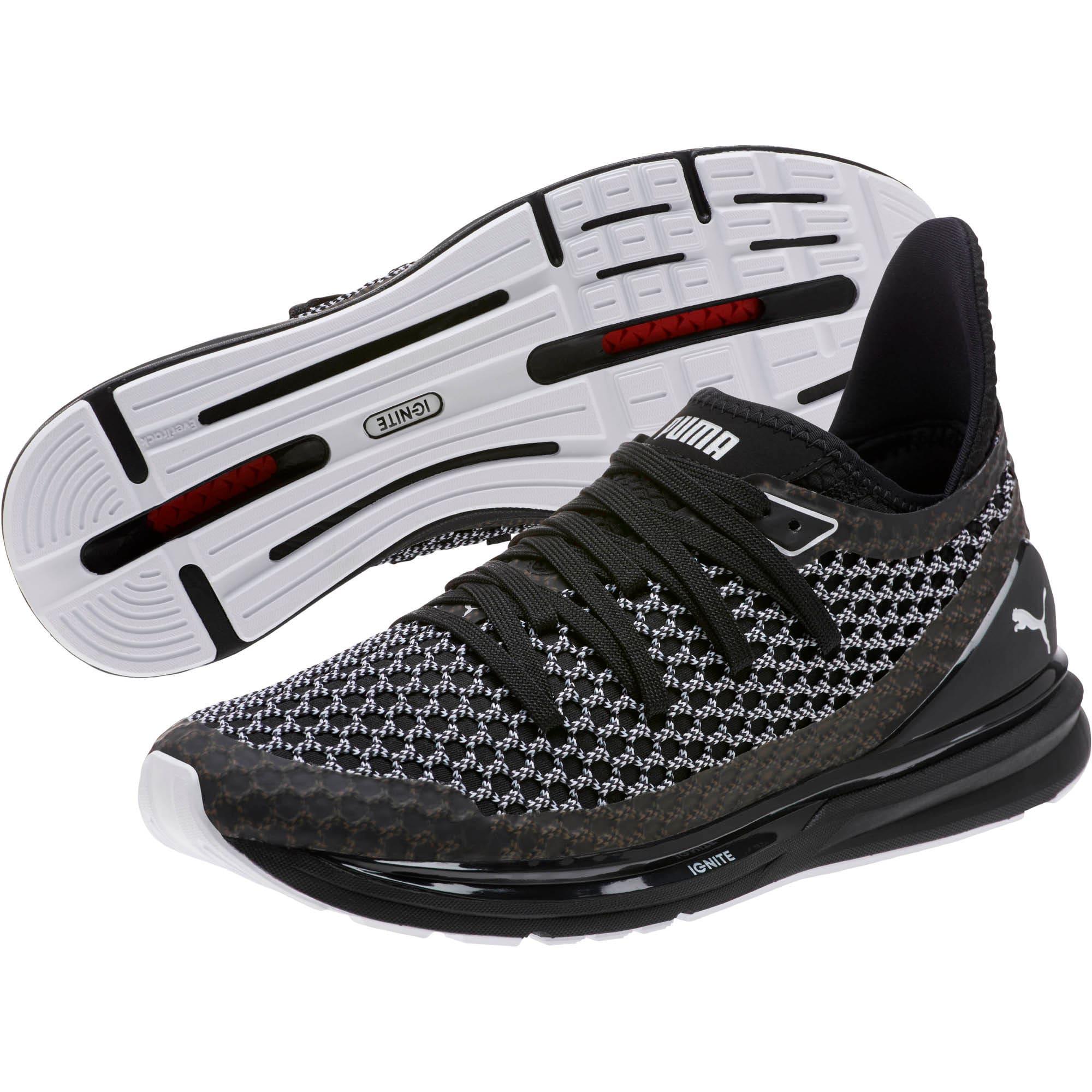Thumbnail 2 of IGNITE Limitless NETFIT Multi Sneakers, Puma Black-Puma White, medium