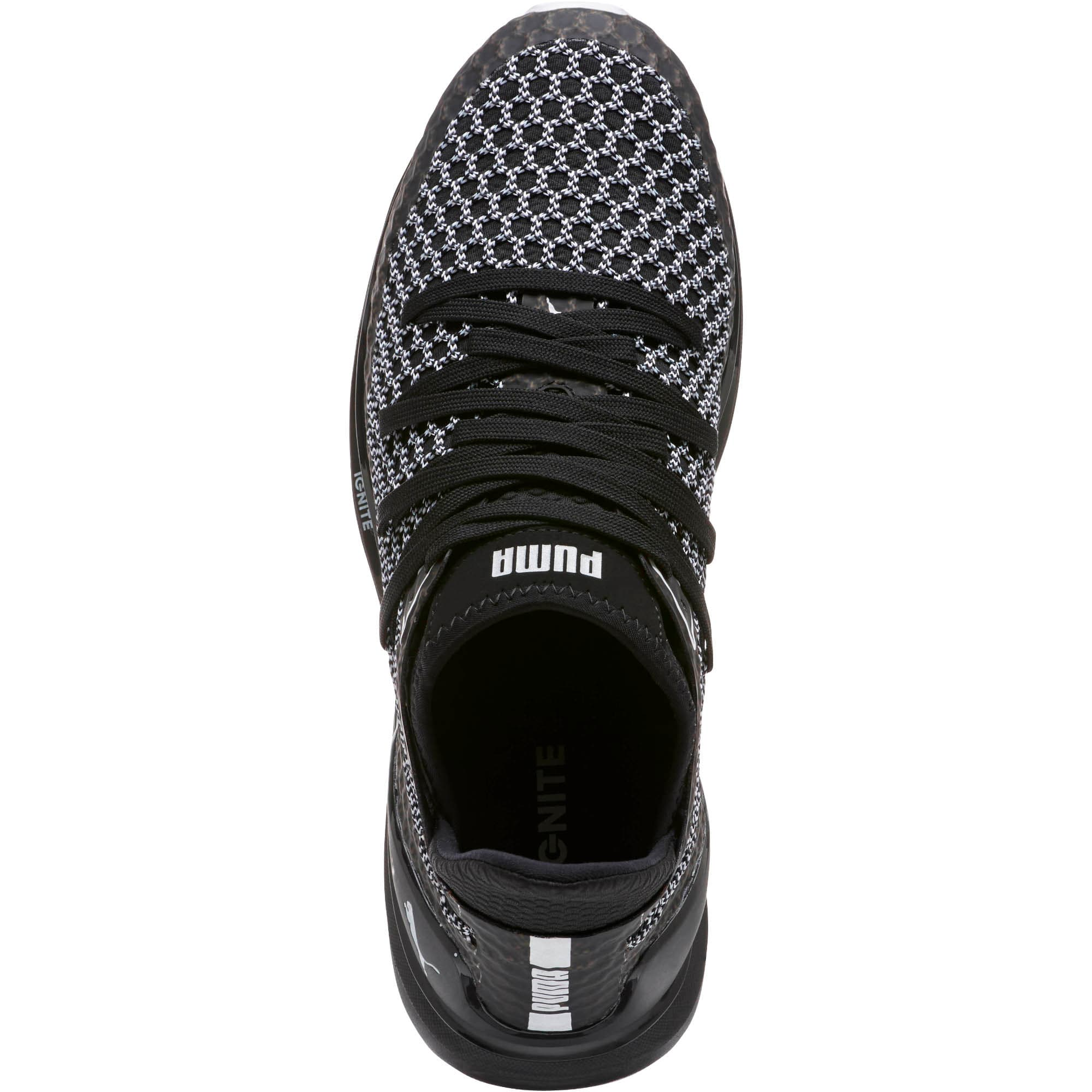 Thumbnail 5 of IGNITE Limitless NETFIT Multi Sneakers, Puma Black-Puma White, medium