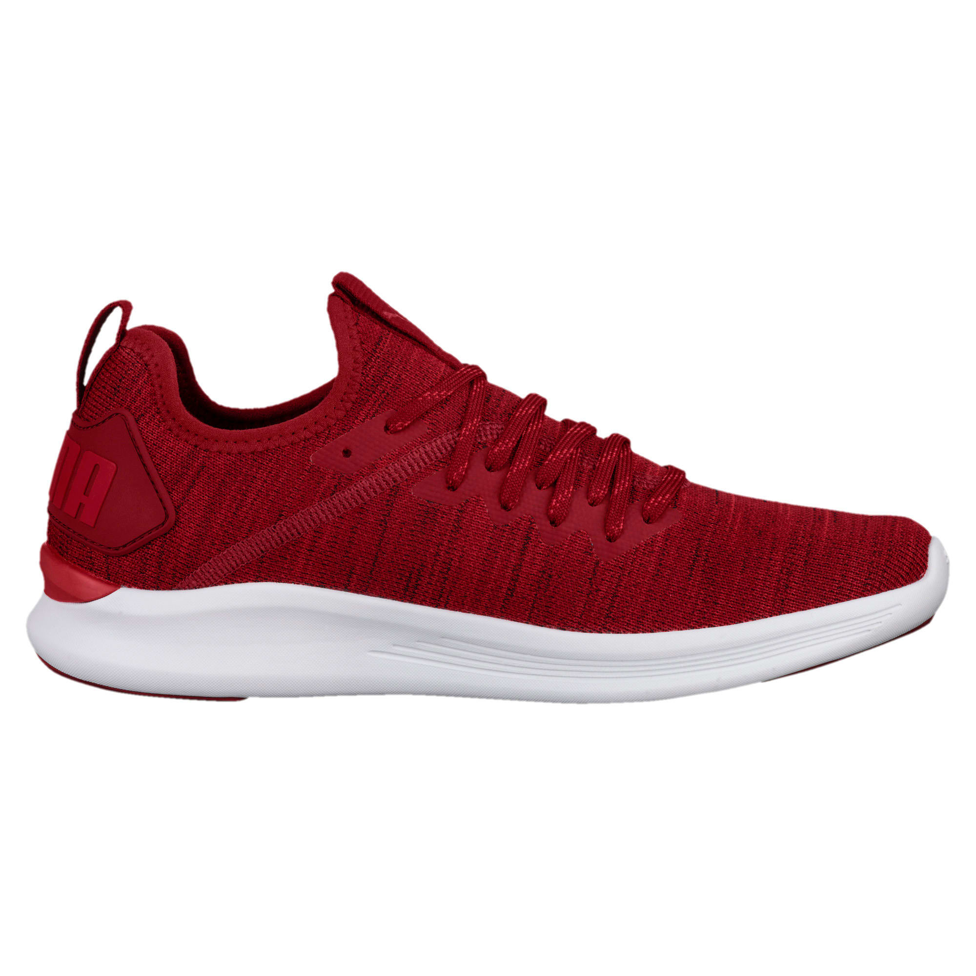 Thumbnail 4 of IGNITE Flash evoKNIT Men's Training Shoes, Red Dahlia-Red-White, medium-IND