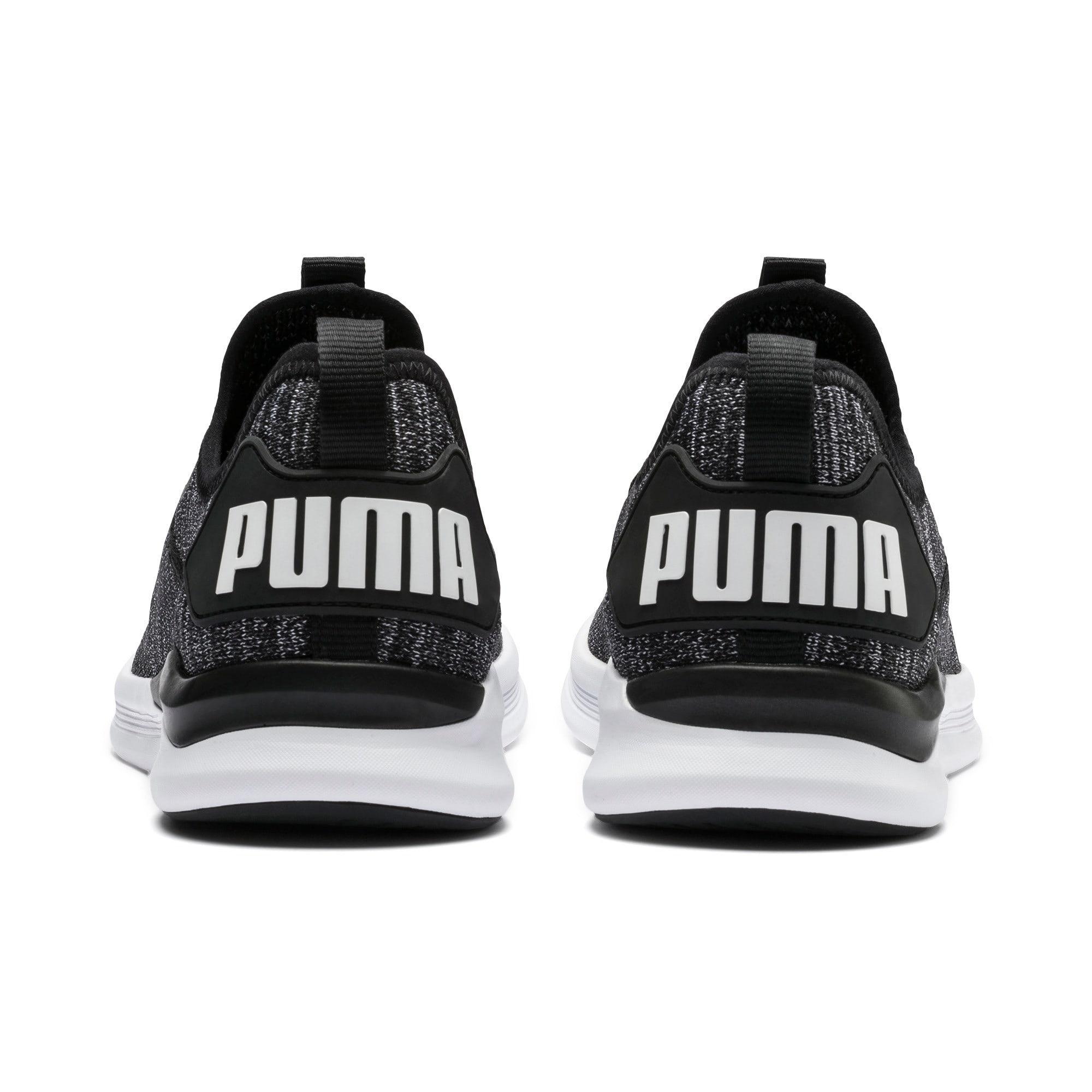 Thumbnail 3 of IGNITE Flash evoKNIT sportschoenen voor heren, Black-Asphalt-White, medium