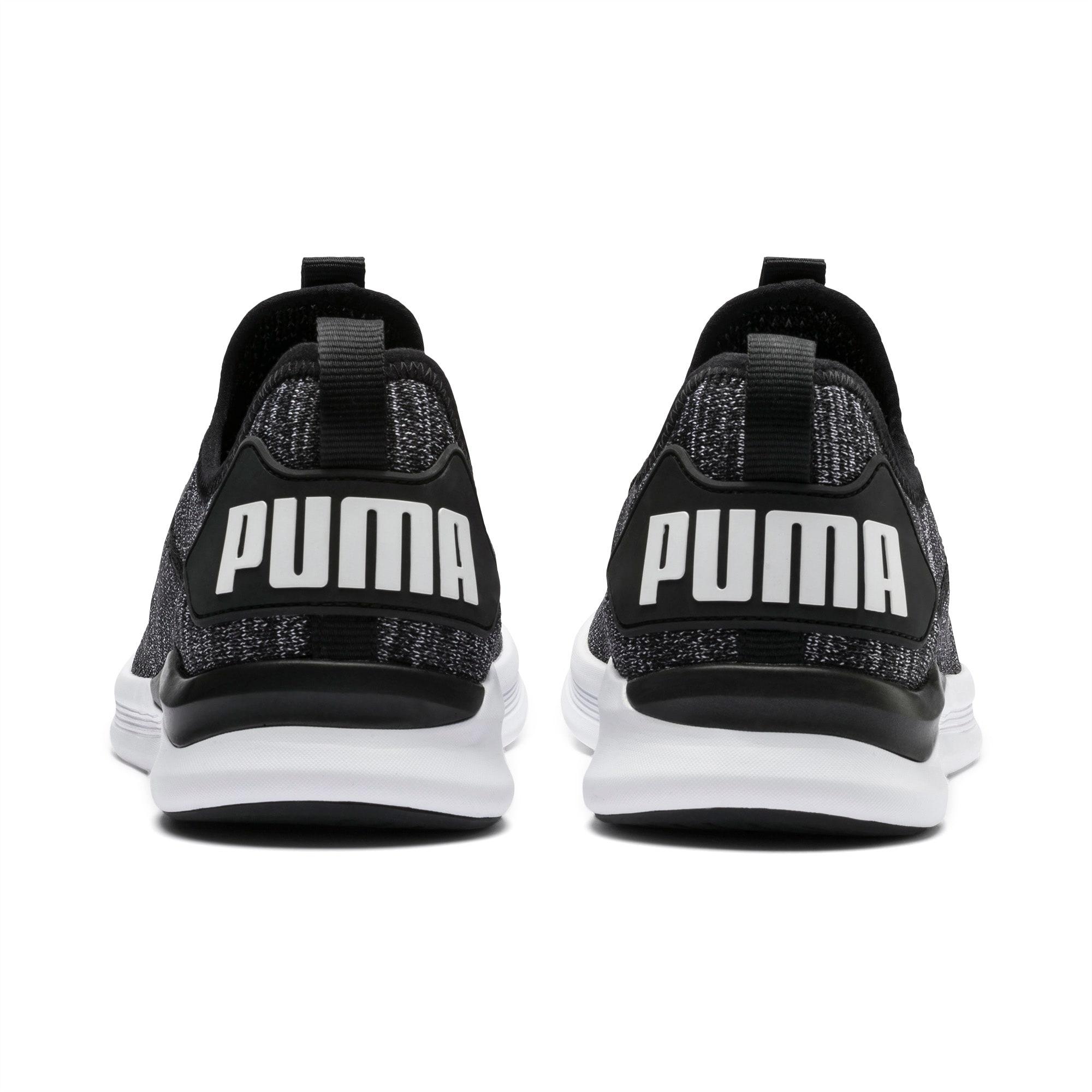 Buty PUMA Ignite Flash EvoKnit 190508 02 BlackAsphaltWhite