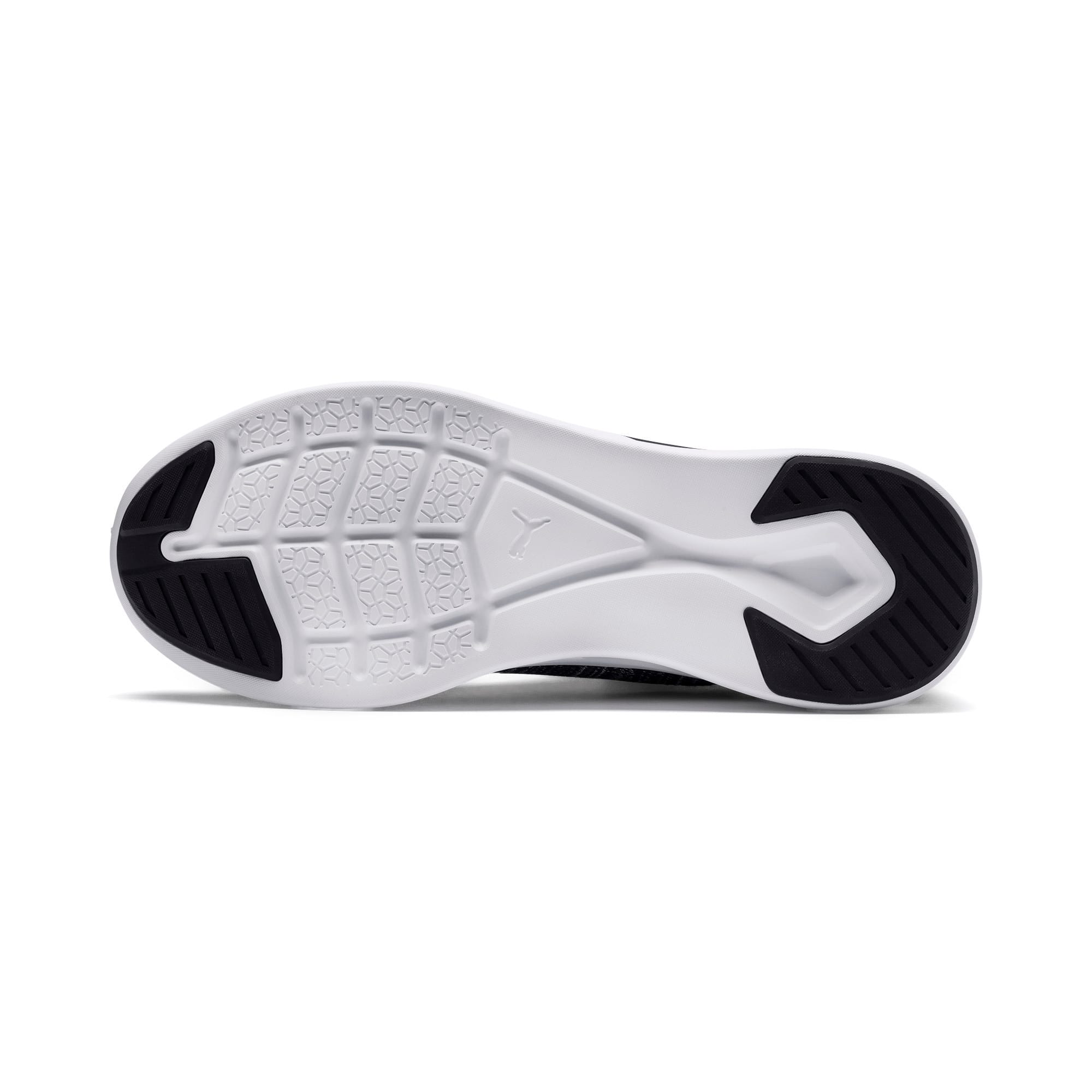 Thumbnail 4 of IGNITE Flash evoKNIT sportschoenen voor heren, Black-Asphalt-White, medium