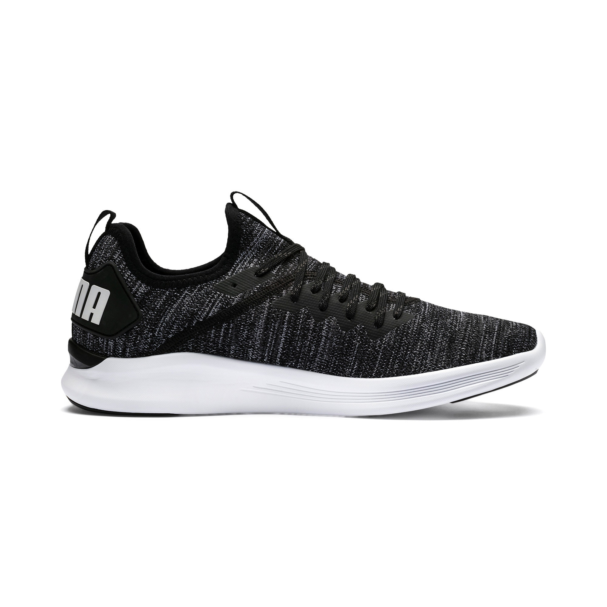 Thumbnail 5 of IGNITE Flash evoKNIT Men's Training Shoes, Black-Asphalt-White, medium-IND