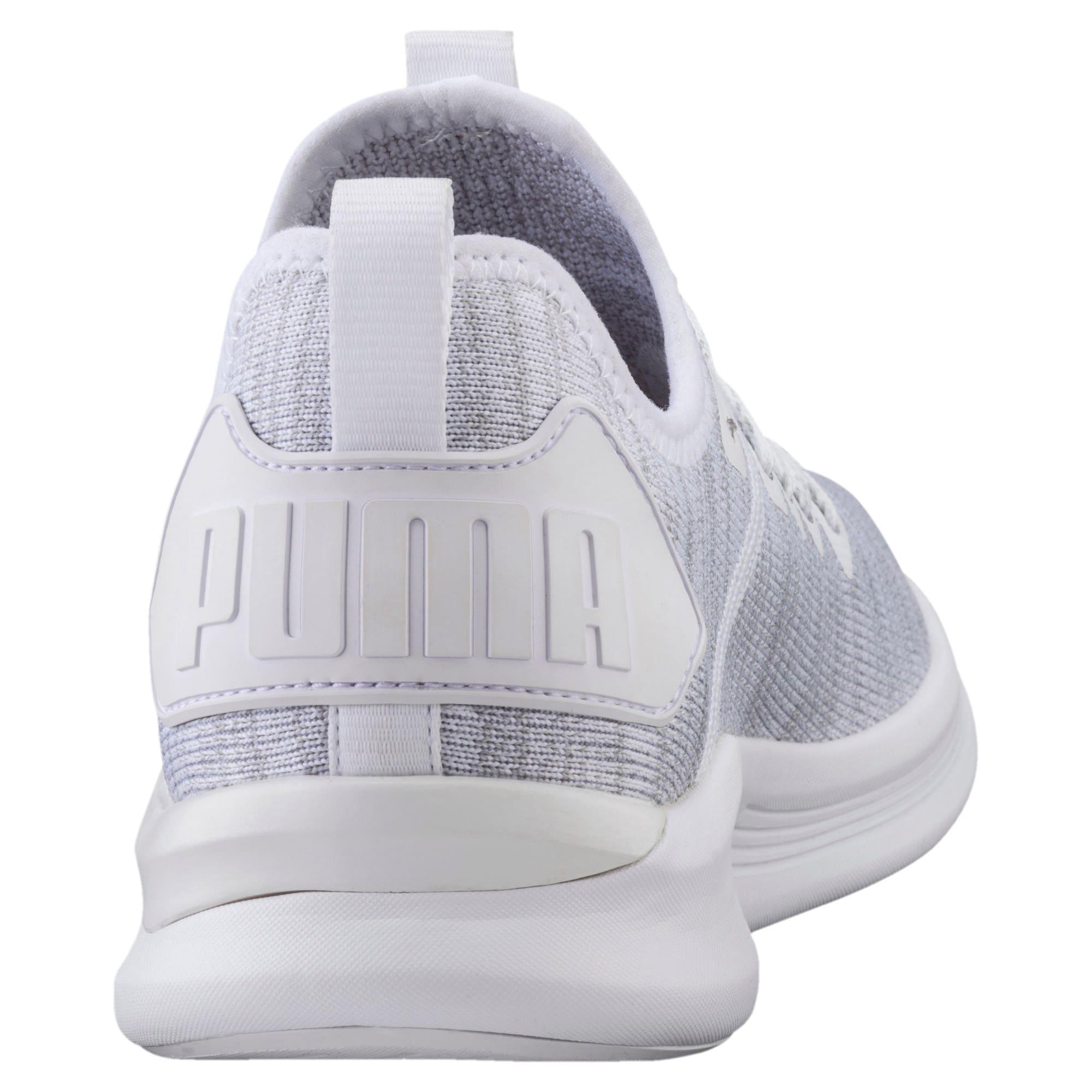 Thumbnail 4 of IGNITE Flash evoKNIT Men's Training Shoes, Puma White, medium-IND