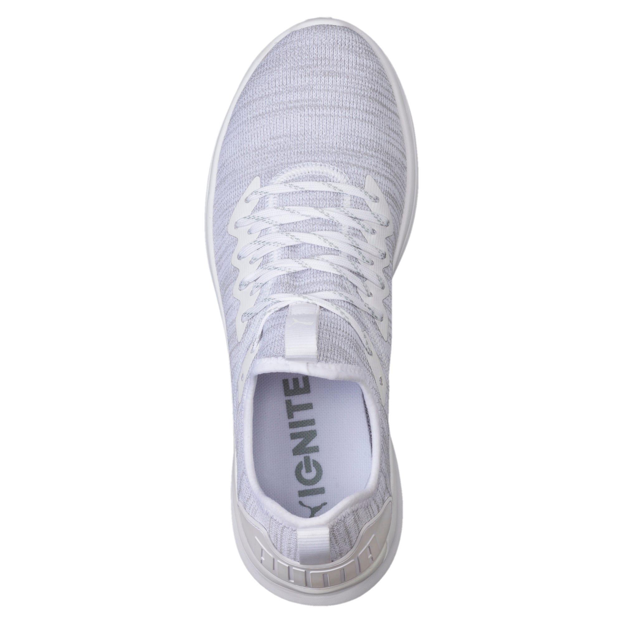 Thumbnail 5 of IGNITE Flash evoKNIT Men's Training Shoes, Puma White, medium-IND