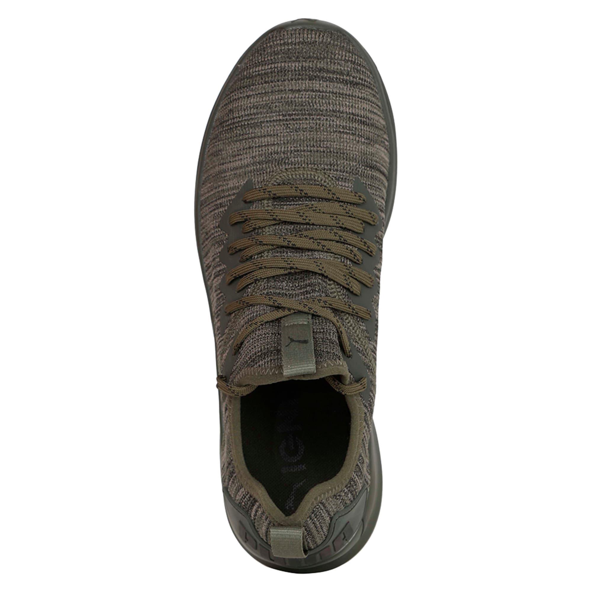 Thumbnail 4 of IGNITE Flash evoKNIT Men's Training Shoes, Forest Night-Gray-Black, medium-IND