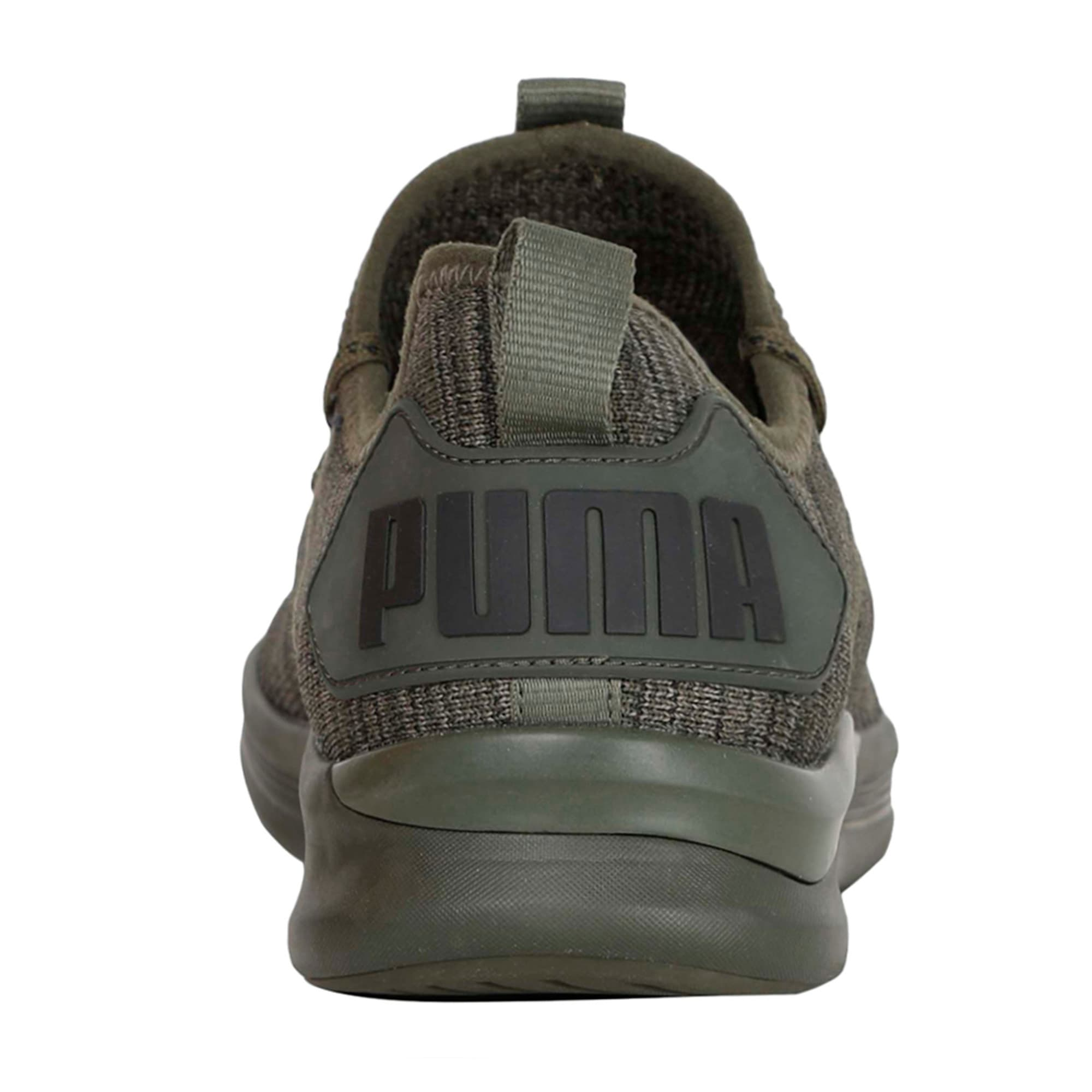 Thumbnail 5 of IGNITE Flash evoKNIT Men's Training Shoes, Forest Night-Gray-Black, medium-IND