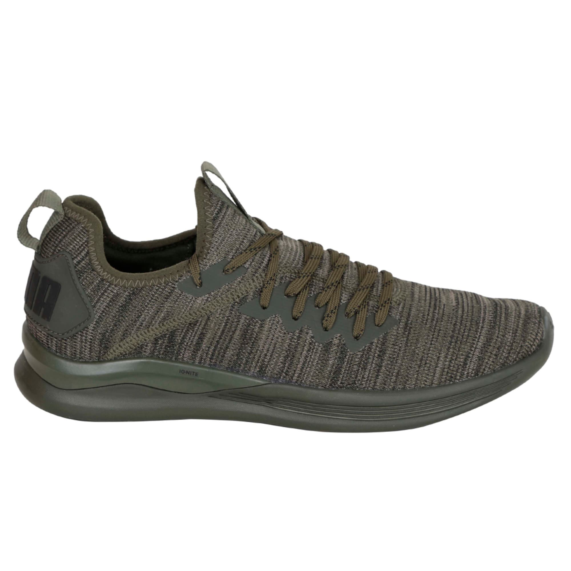 Thumbnail 3 of IGNITE Flash evoKNIT Men's Training Shoes, Forest Night-Gray-Black, medium-IND