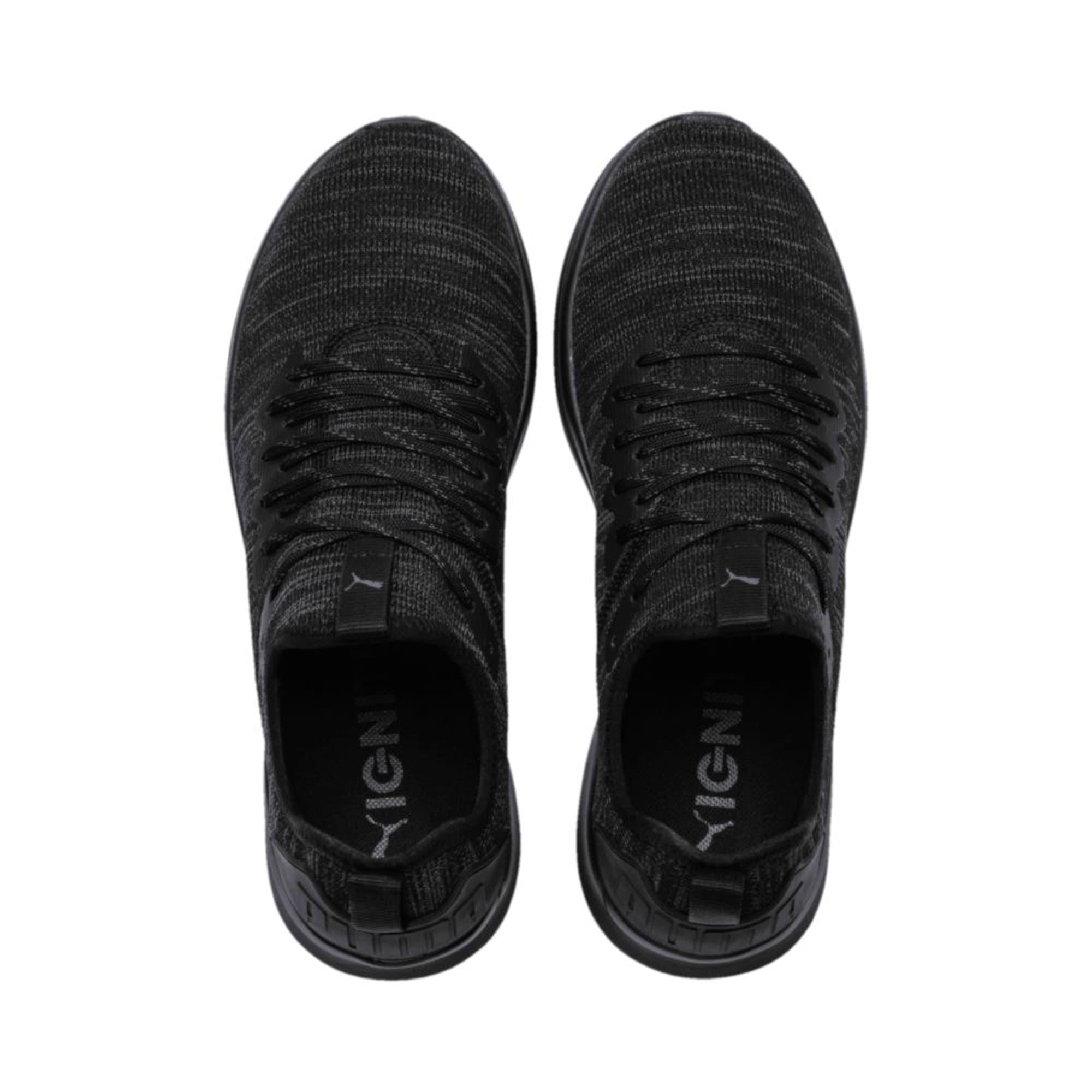 Thumbnail 3 of IGNITE Flash evoKNIT Men's Training Shoes, Puma Black, medium-IND