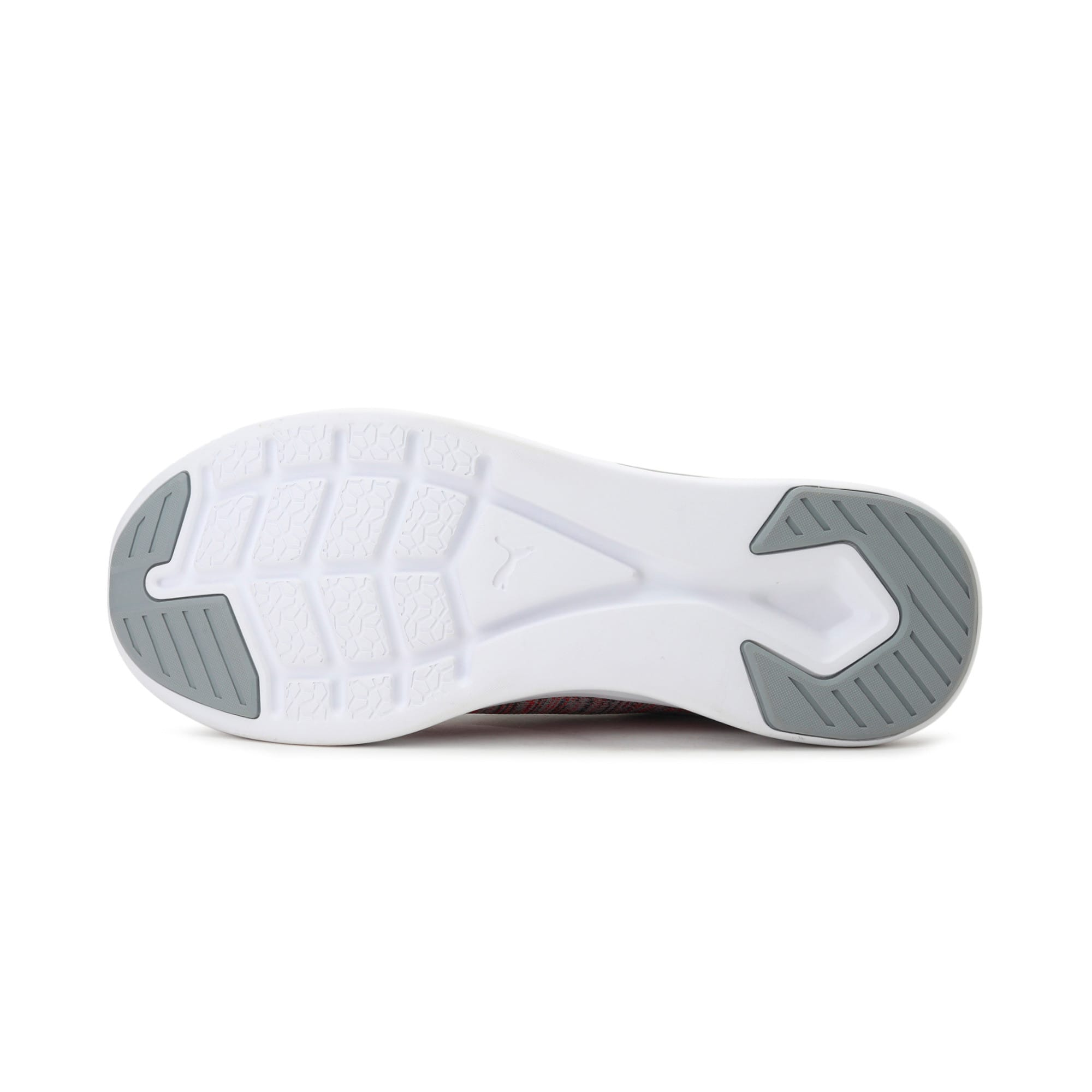 Thumbnail 3 of IGNITE Flash evoKNIT Men's Training Shoes, Quarry-High Risk Red-Asphalt, medium-IND
