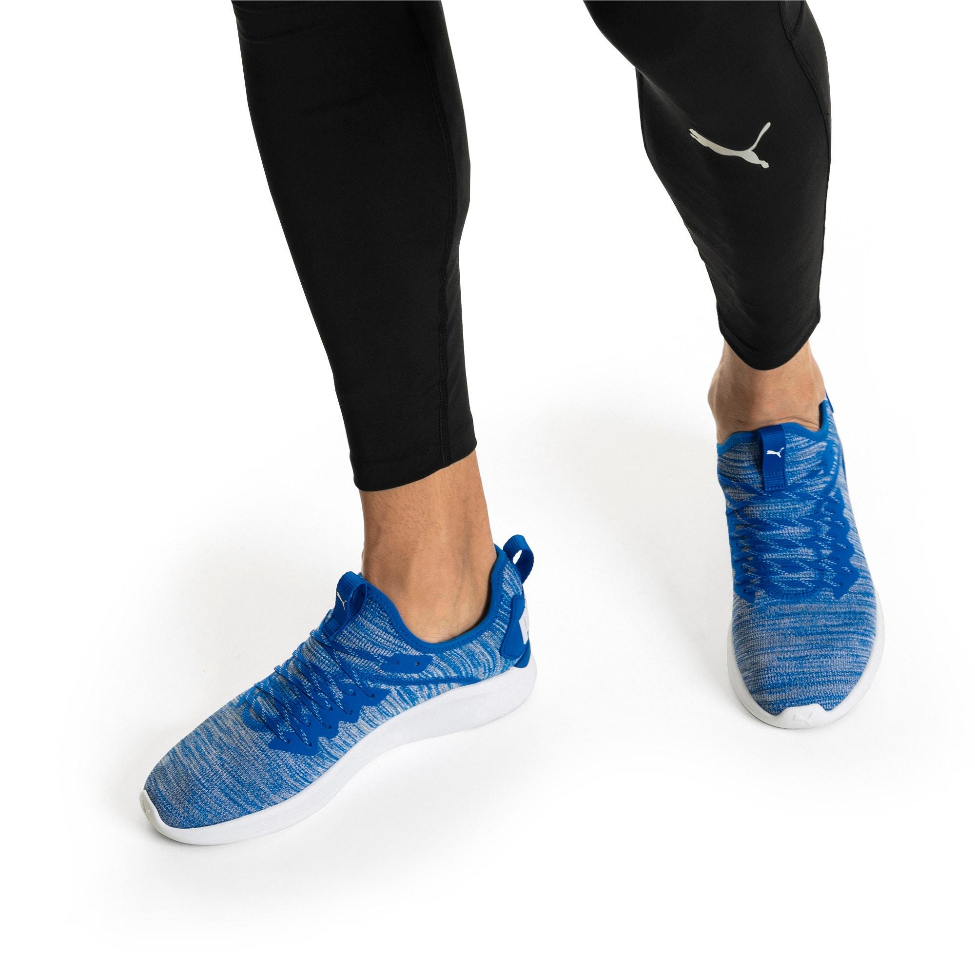 Thumbnail 8 of IGNITE Flash evoKNIT Men's Training Shoes, Strong Blue-White, medium-IND