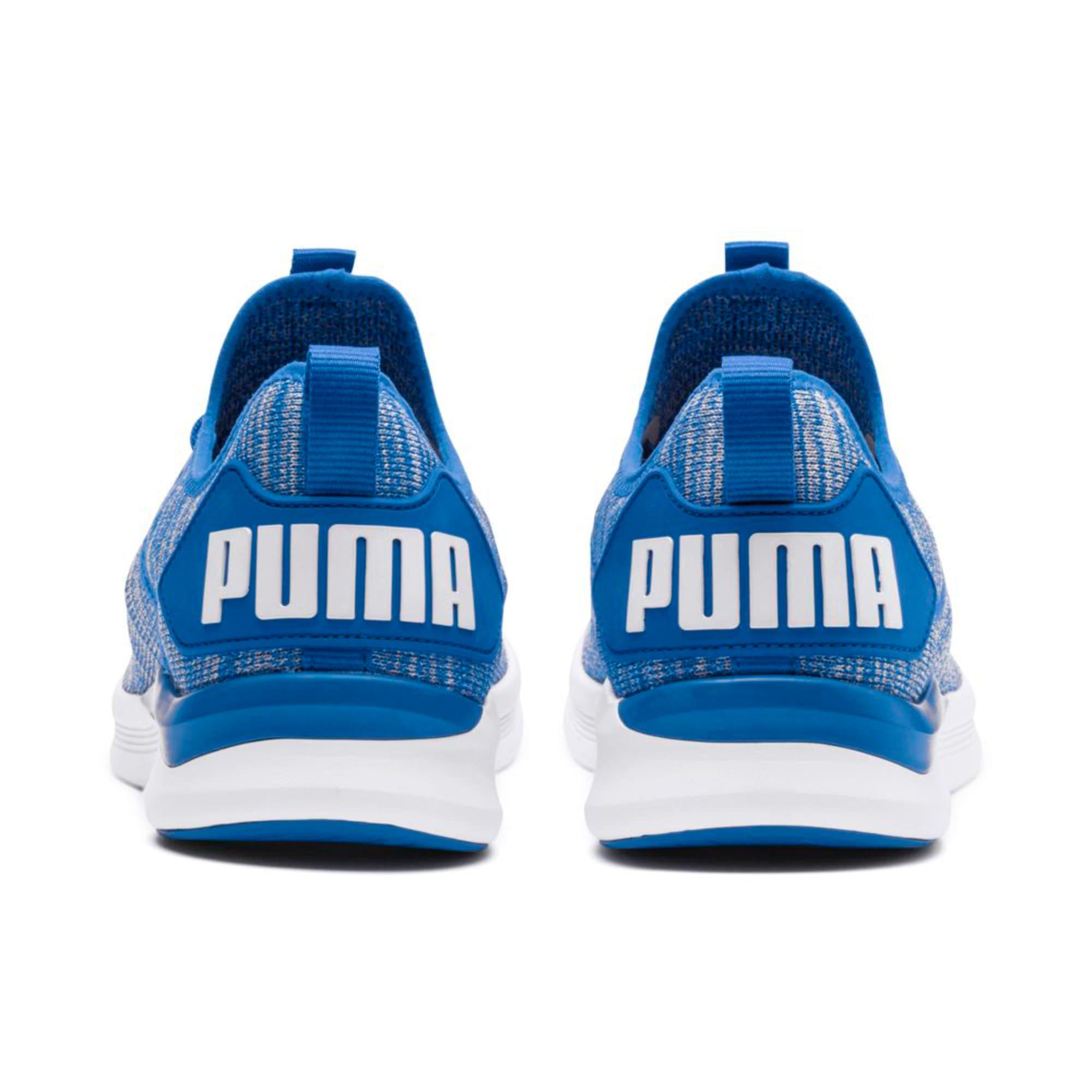 Thumbnail 4 of IGNITE Flash evoKNIT Men's Training Shoes, Strong Blue-White, medium-IND
