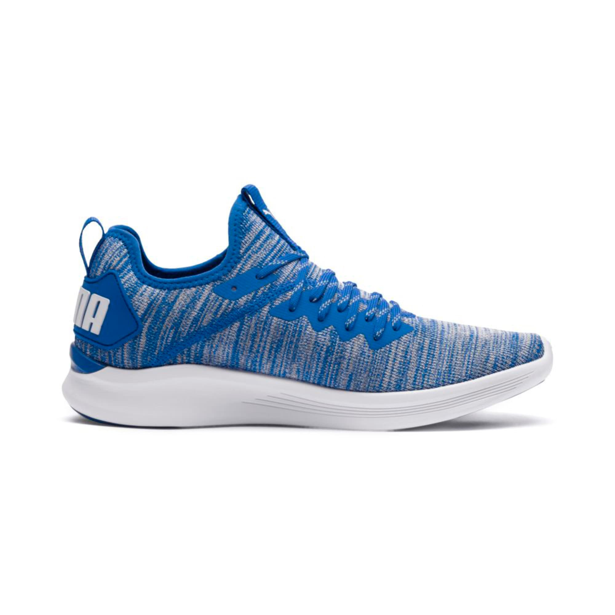 Thumbnail 5 of IGNITE Flash evoKNIT Men's Training Shoes, Strong Blue-White, medium-IND