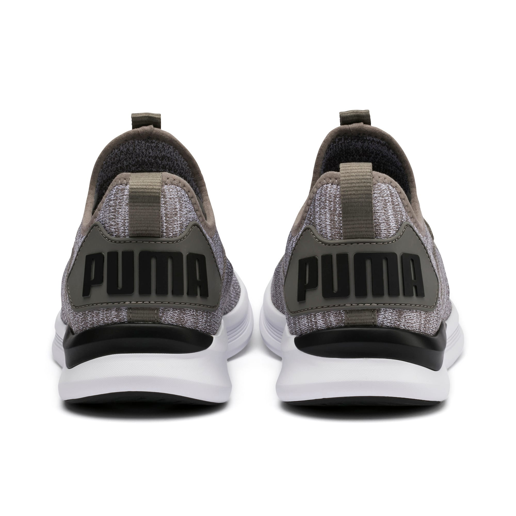 Thumbnail 5 of IGNITE Flash evoKNIT Men's Training Shoes, Steel Gray-Puma Black, medium-IND